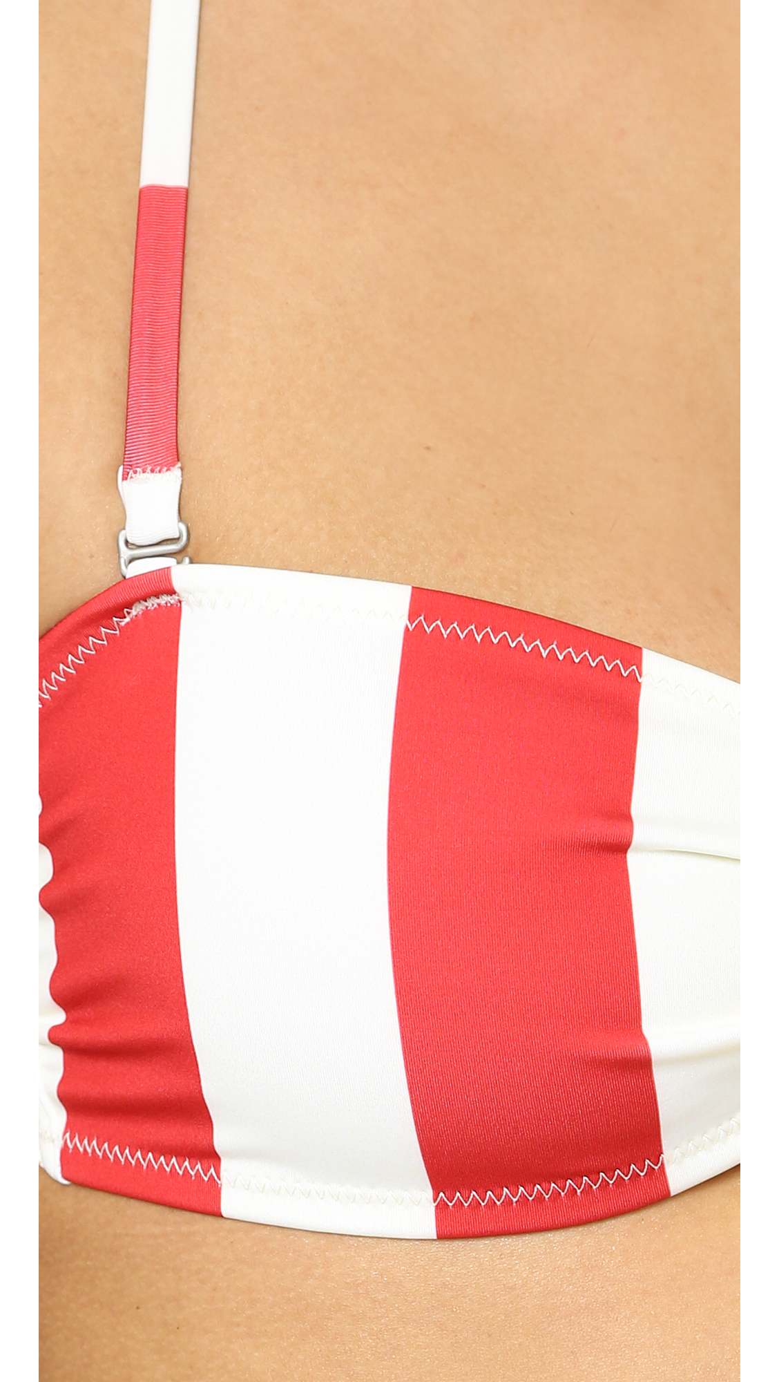 red striped bikini solid striped the chloe bikini top red white stripe 4819