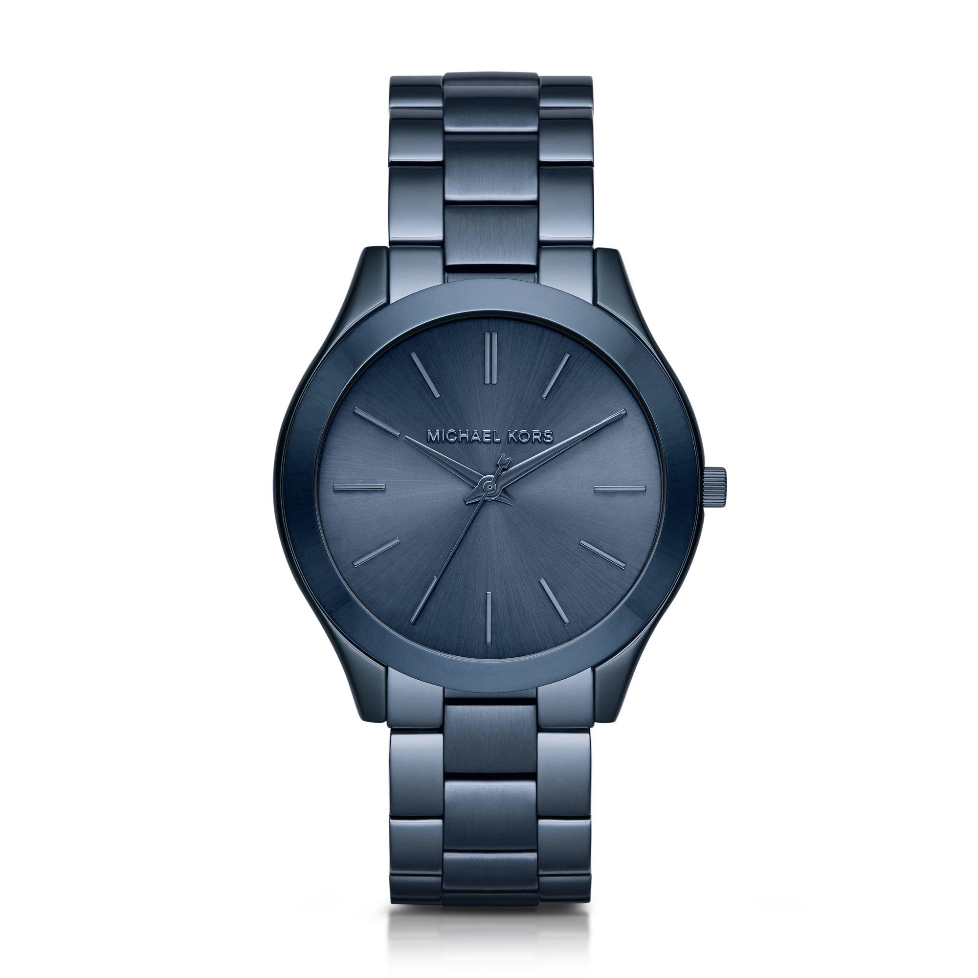 Michael kors Slim Runway Blue Watch in Blue