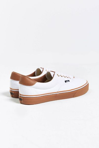 Vans California Era 59 Gum-Sole Sneaker In White For Men | Lyst
