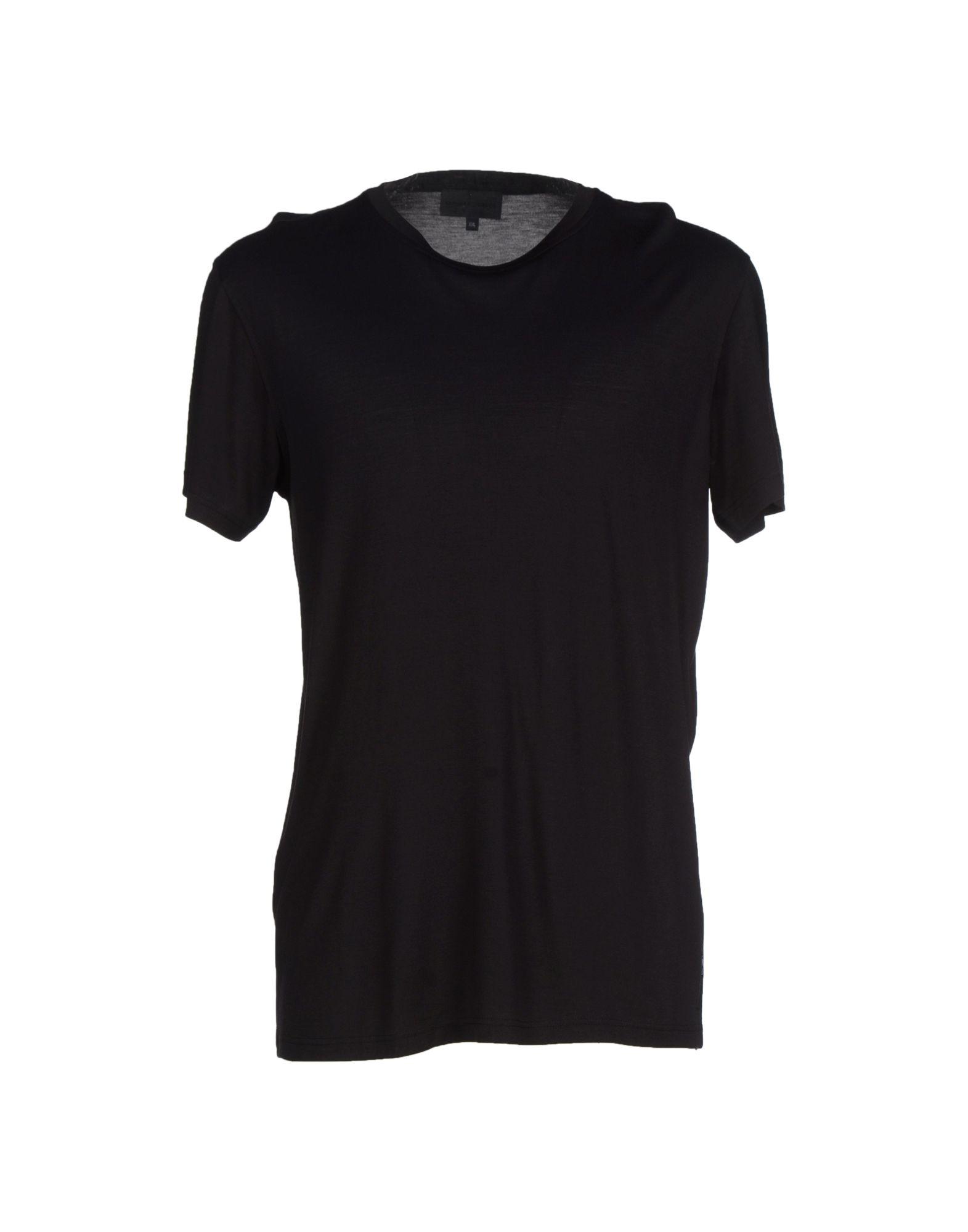 Emporio Armani T Shirt In Black For Men Lyst