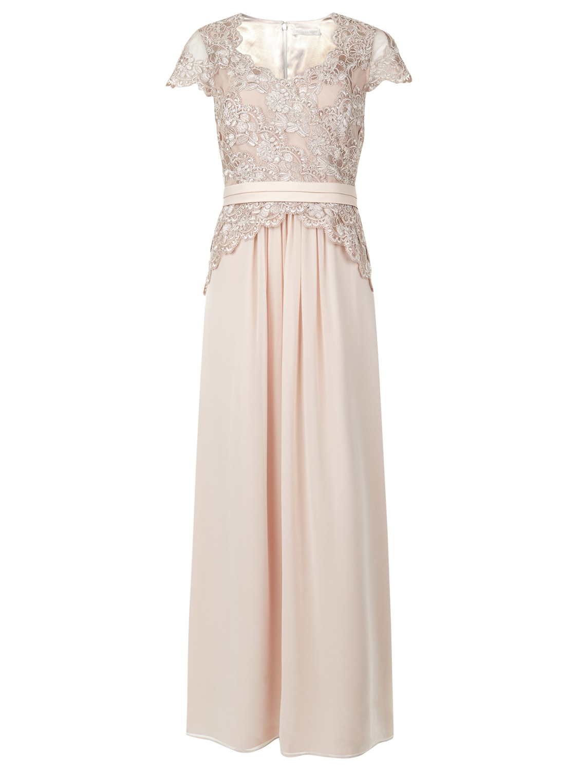 Jacques Vert Lace Prom Dress In Pink Lyst