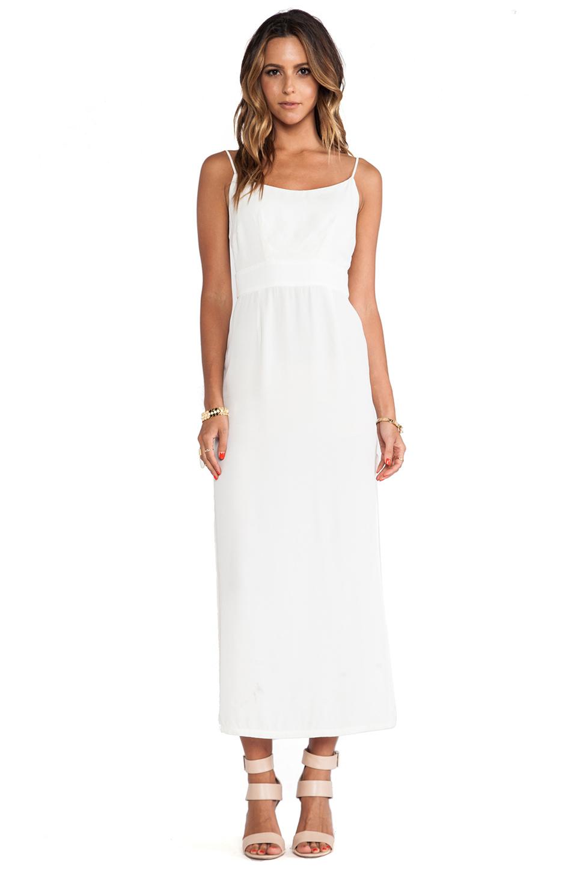 Myne Sail Open Back Maxi Dress In White Lyst