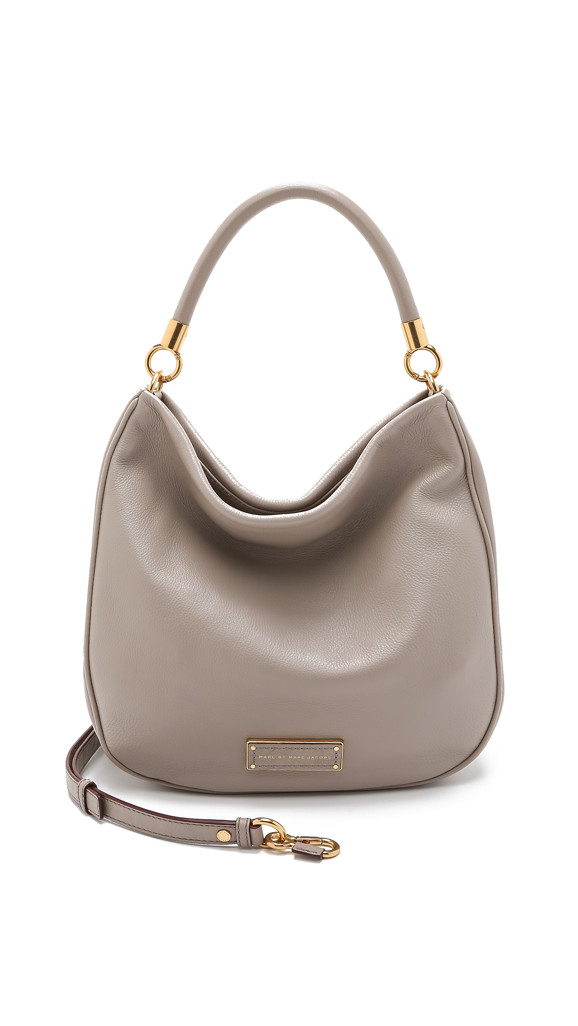 aeaf9f70ed3a Lyst - Marc By Marc Jacobs Too Hot To Handle Hobo Bag - Cement in Gray