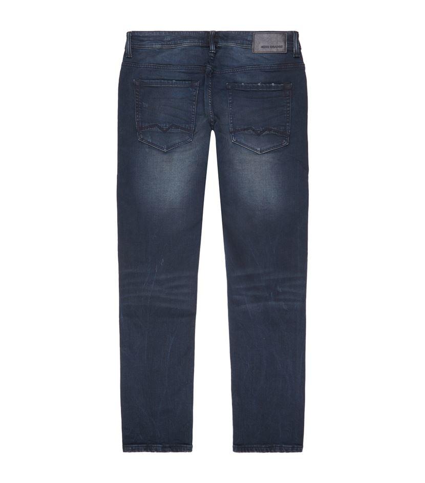 boss orange tapered orange90 jeans in blue for men lyst. Black Bedroom Furniture Sets. Home Design Ideas