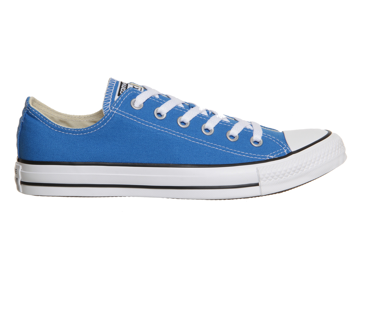 converse all star low in blue sapphire lyst. Black Bedroom Furniture Sets. Home Design Ideas
