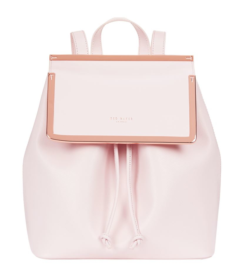 ac311aae9 Ted Baker Monise Leather Backpack in Pink - Lyst