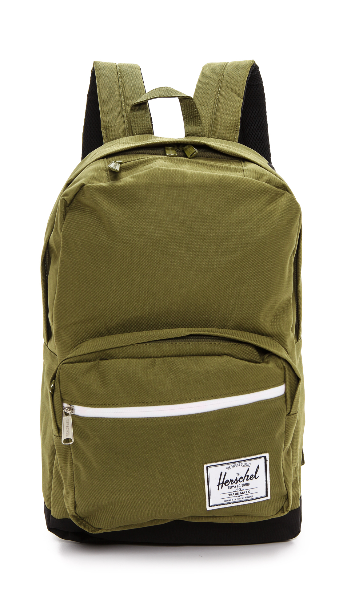 herschel supply co pop quiz backpack army in green lyst. Black Bedroom Furniture Sets. Home Design Ideas