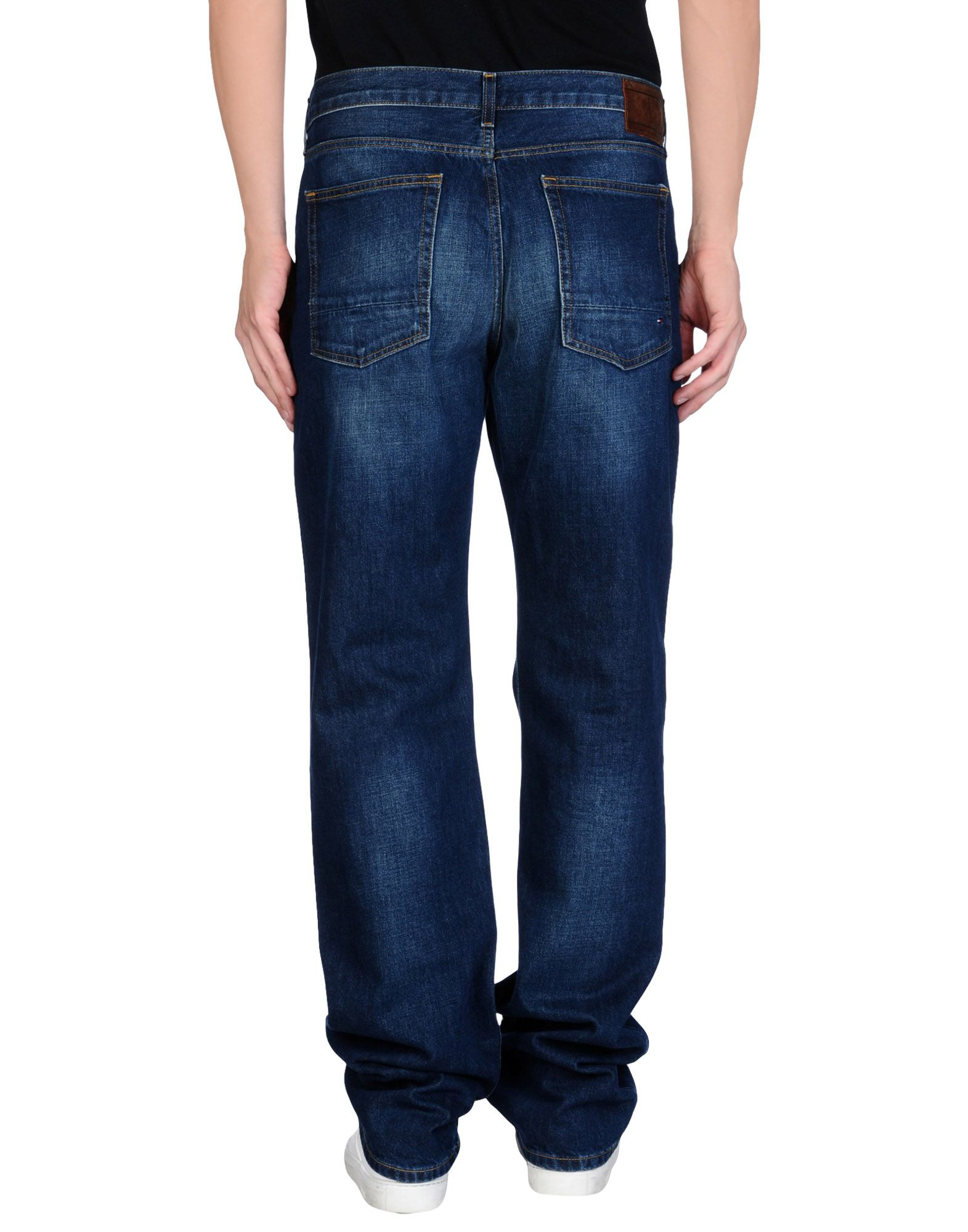 tommy hilfiger denim trousers in blue for men lyst. Black Bedroom Furniture Sets. Home Design Ideas