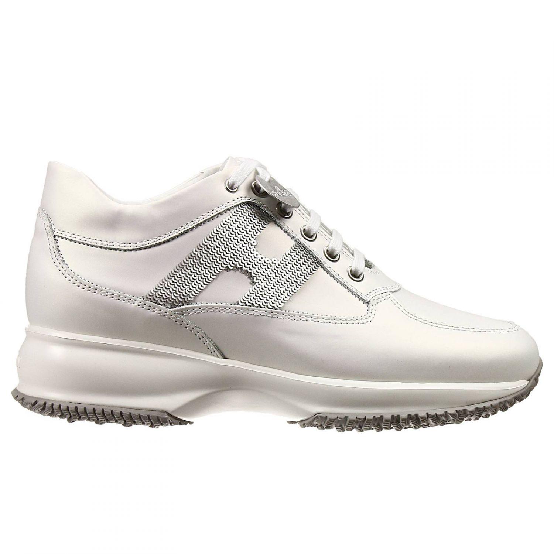 hogan white shoes