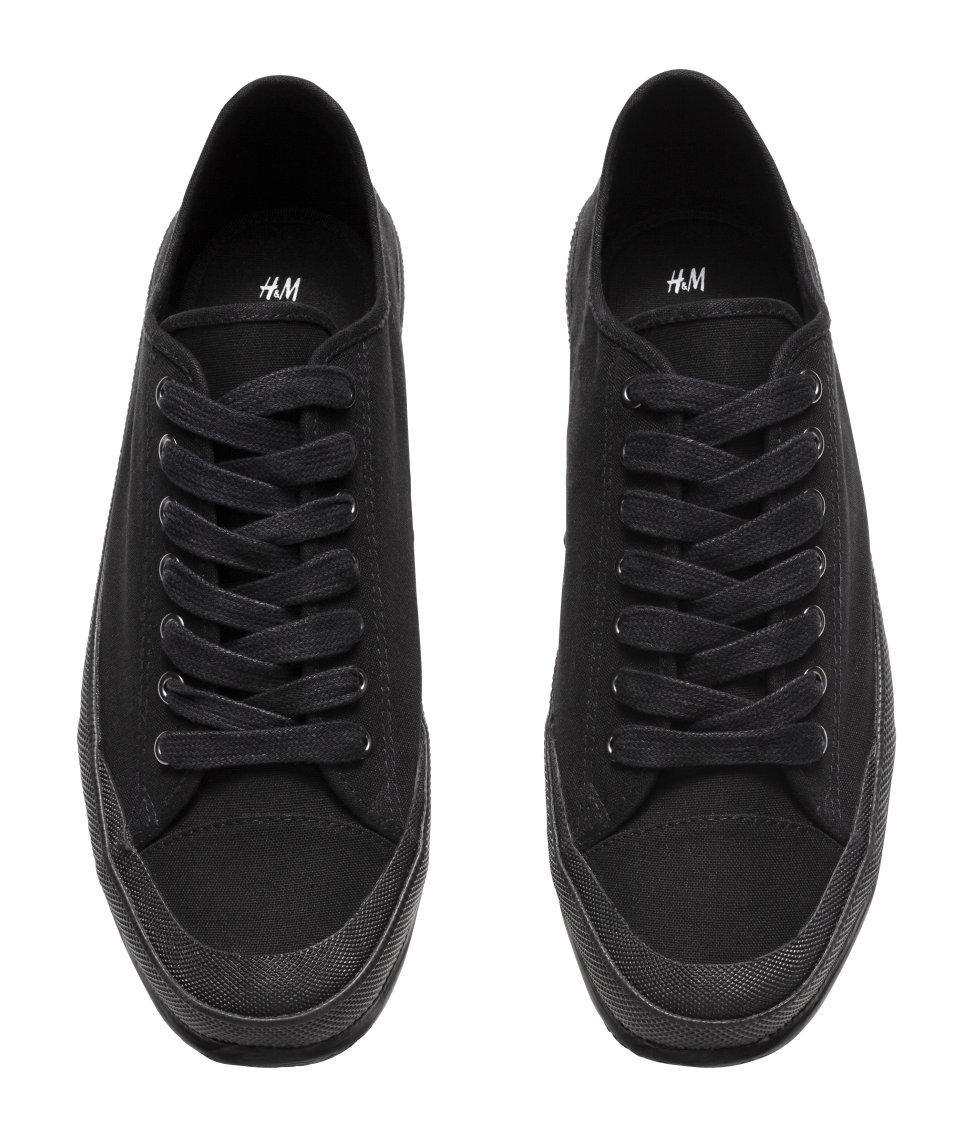 H\u0026M Trainers in Black for Men - Lyst