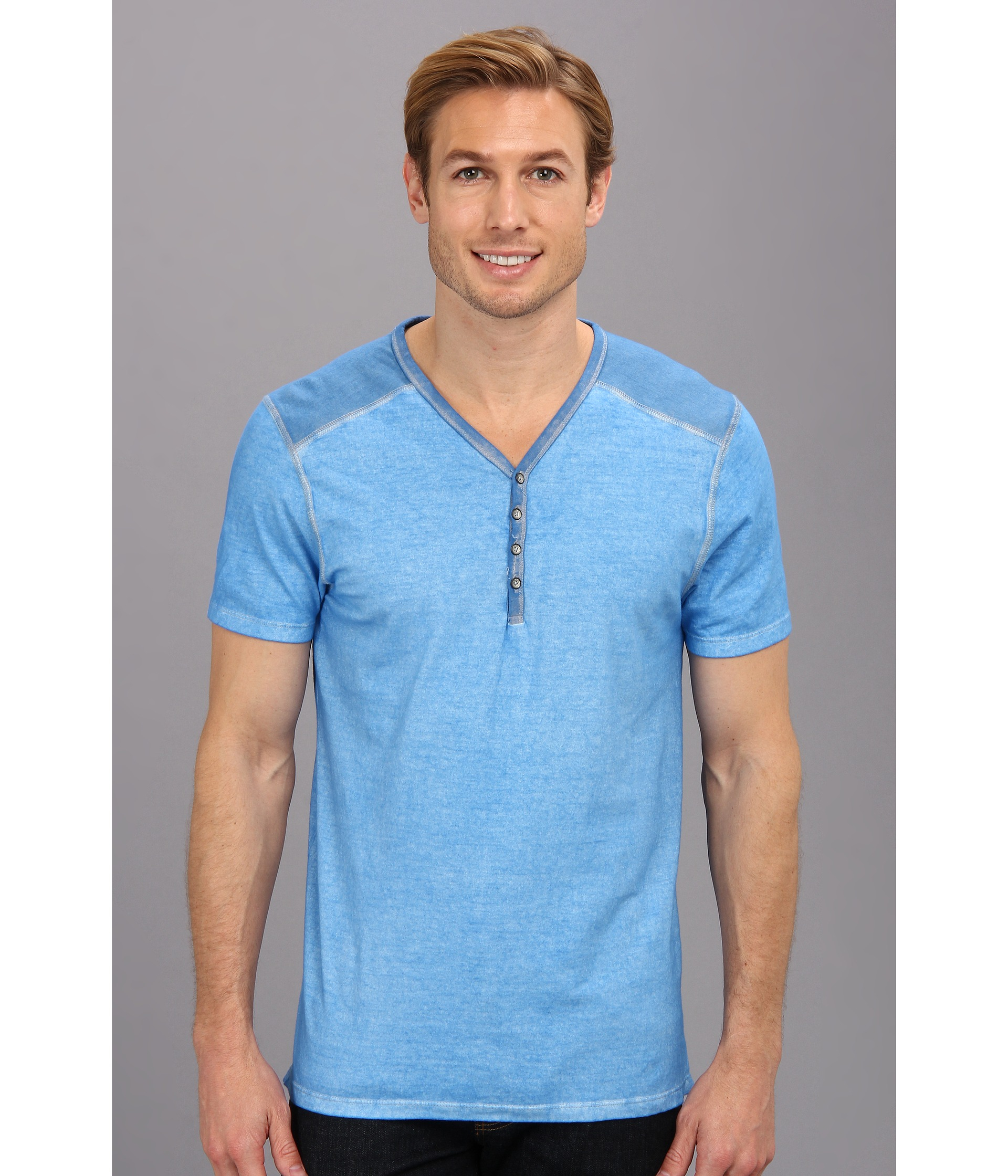 Dkny Ss 5050 Solid Mix Beaten Pigment Wash Yhenley In Blue