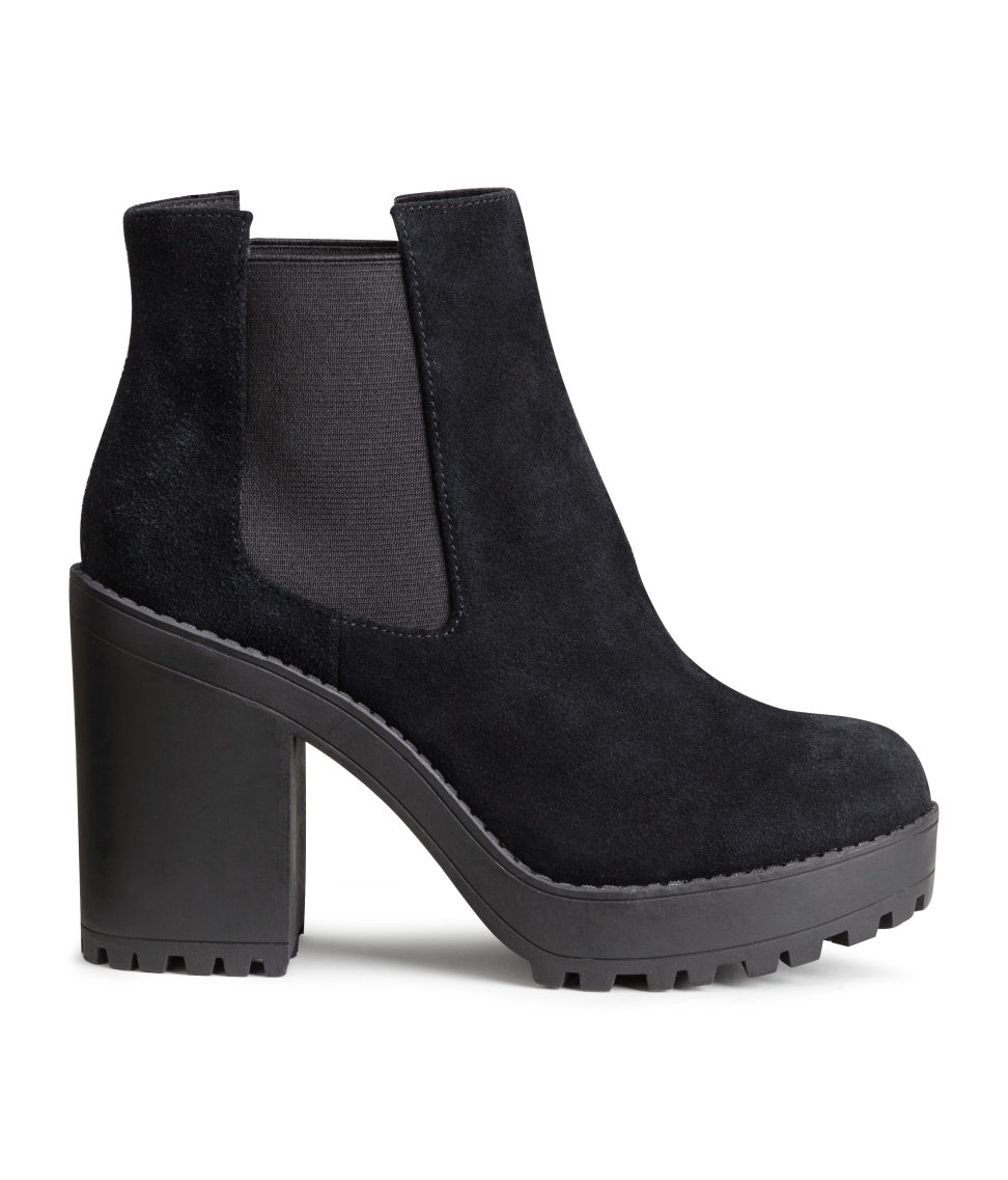 Wonderful Leather Chelsea Boots | Black | SALE | Hu0026M US