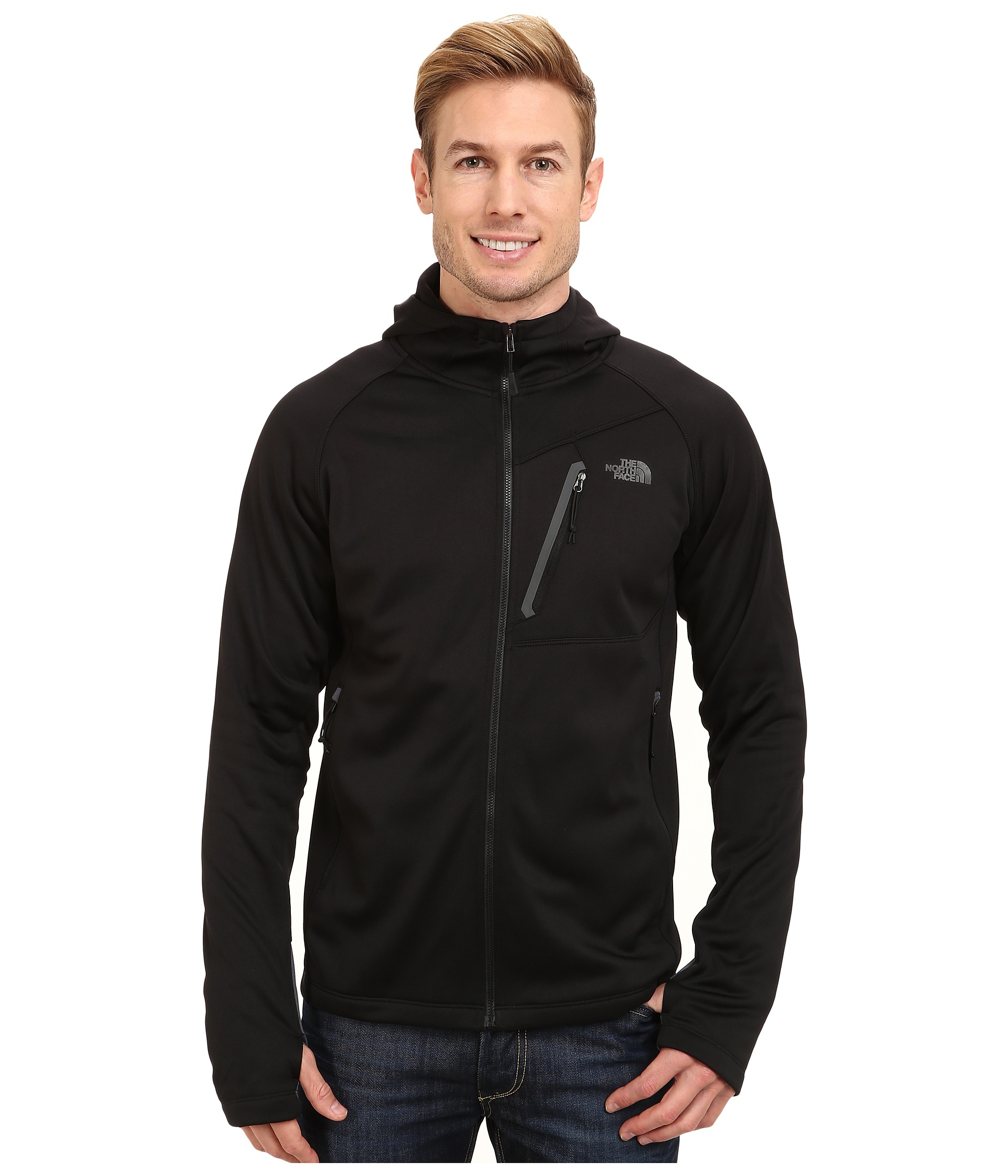 3936fbc0d The North Face Black Canyonlands Hoodie Full Zip for men
