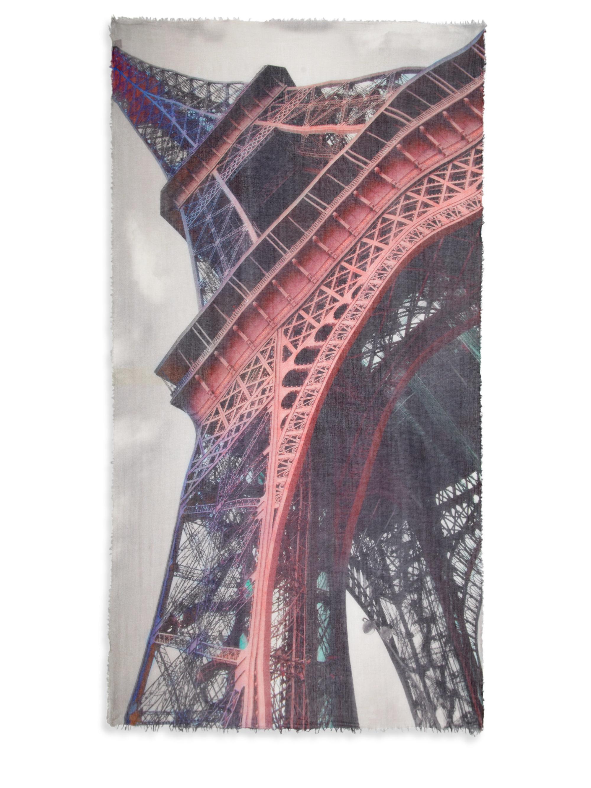 tilo eiffel tower modal scarf lyst