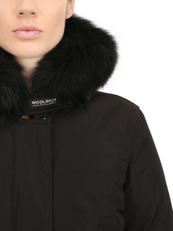 716ce33e42f Woolrich Black Shape Memory Luxury Arctic Parka