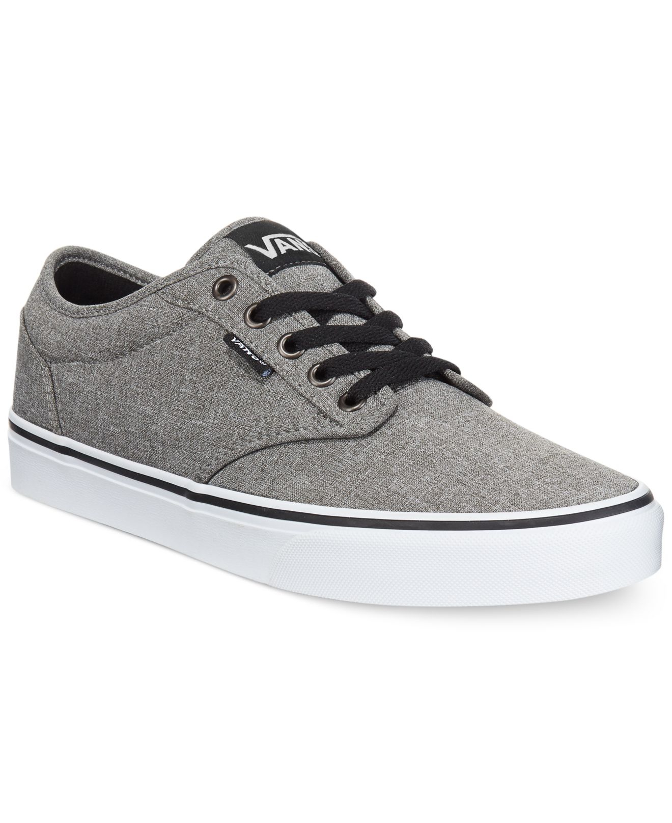 Vans Canvas Men's Atwood Heathered Sneakers in Gray for Men - Lyst