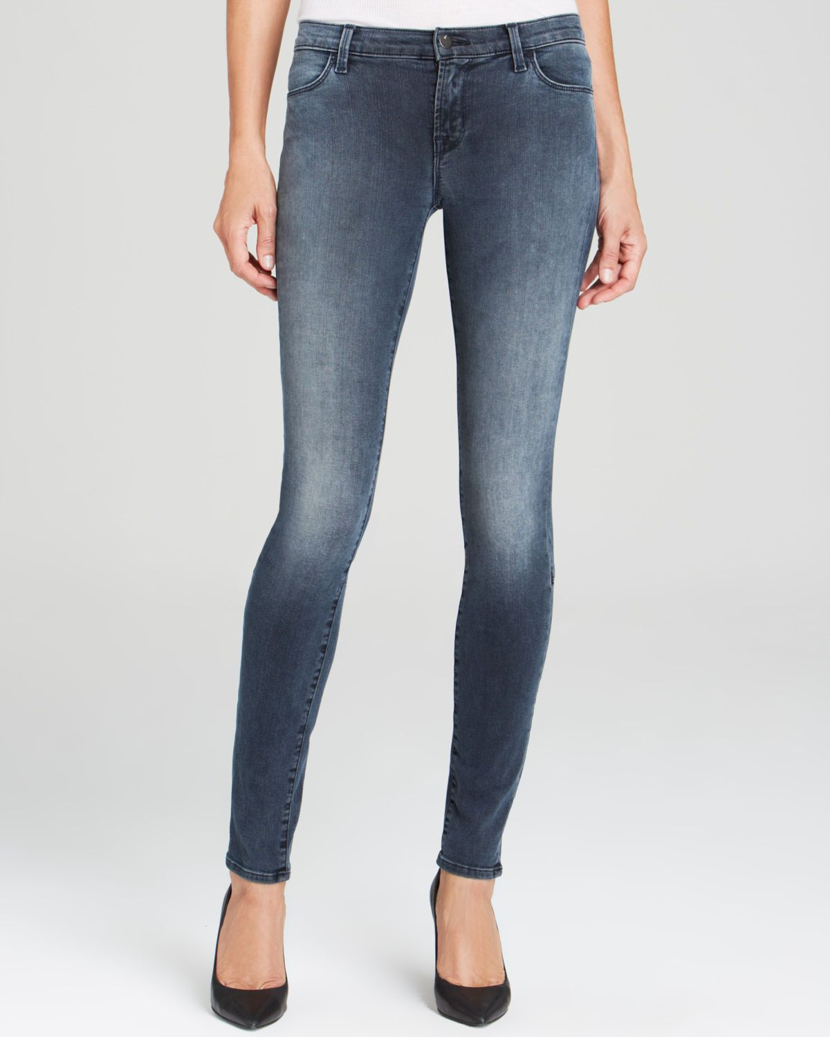 336d8dcf J Brand Jeans - Photo Ready Kamila Zip Back Skinny In Crush in Blue ...