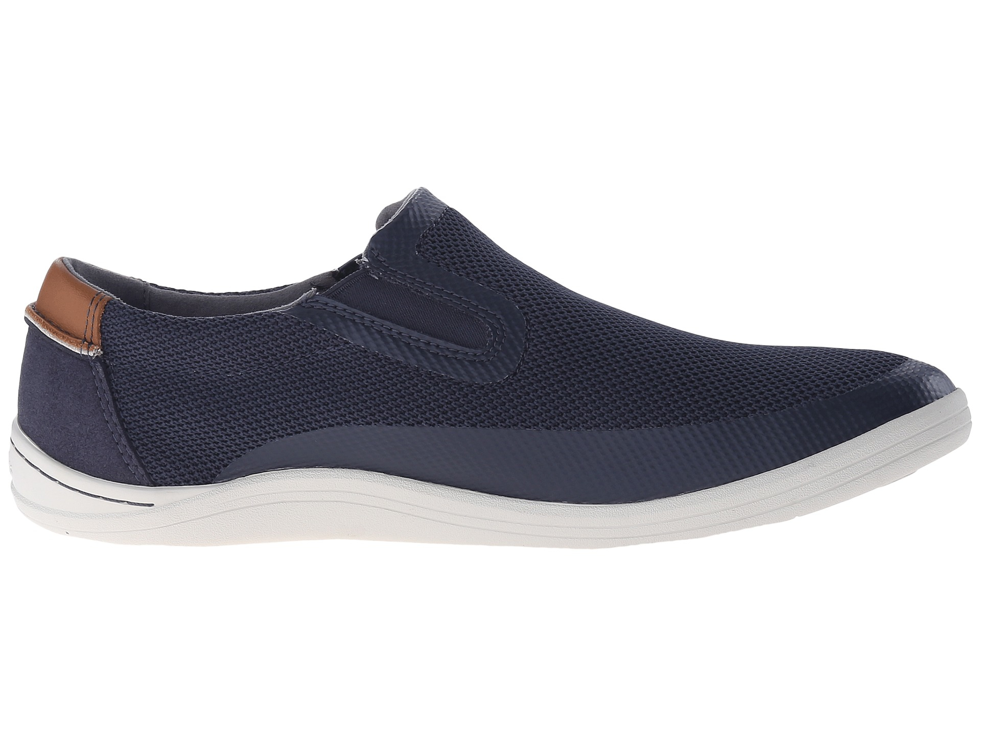 Mens Clarks Mapped Step Sneakers Blue SFP73155