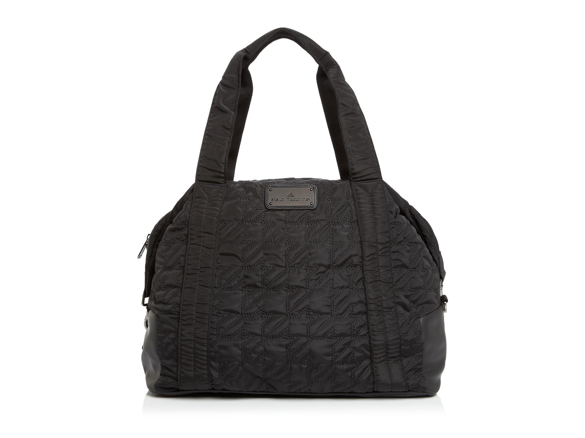 Lyst Adidas By Stella Mccartney Tote Big Gym Bag In Black