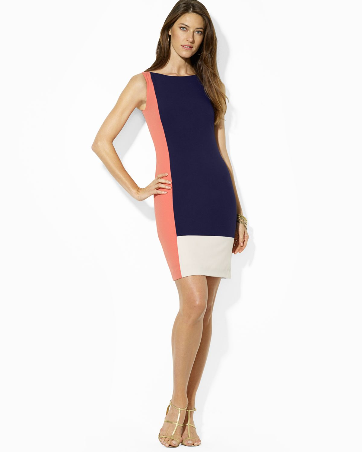 Ralph Lauren Colorblock Dress