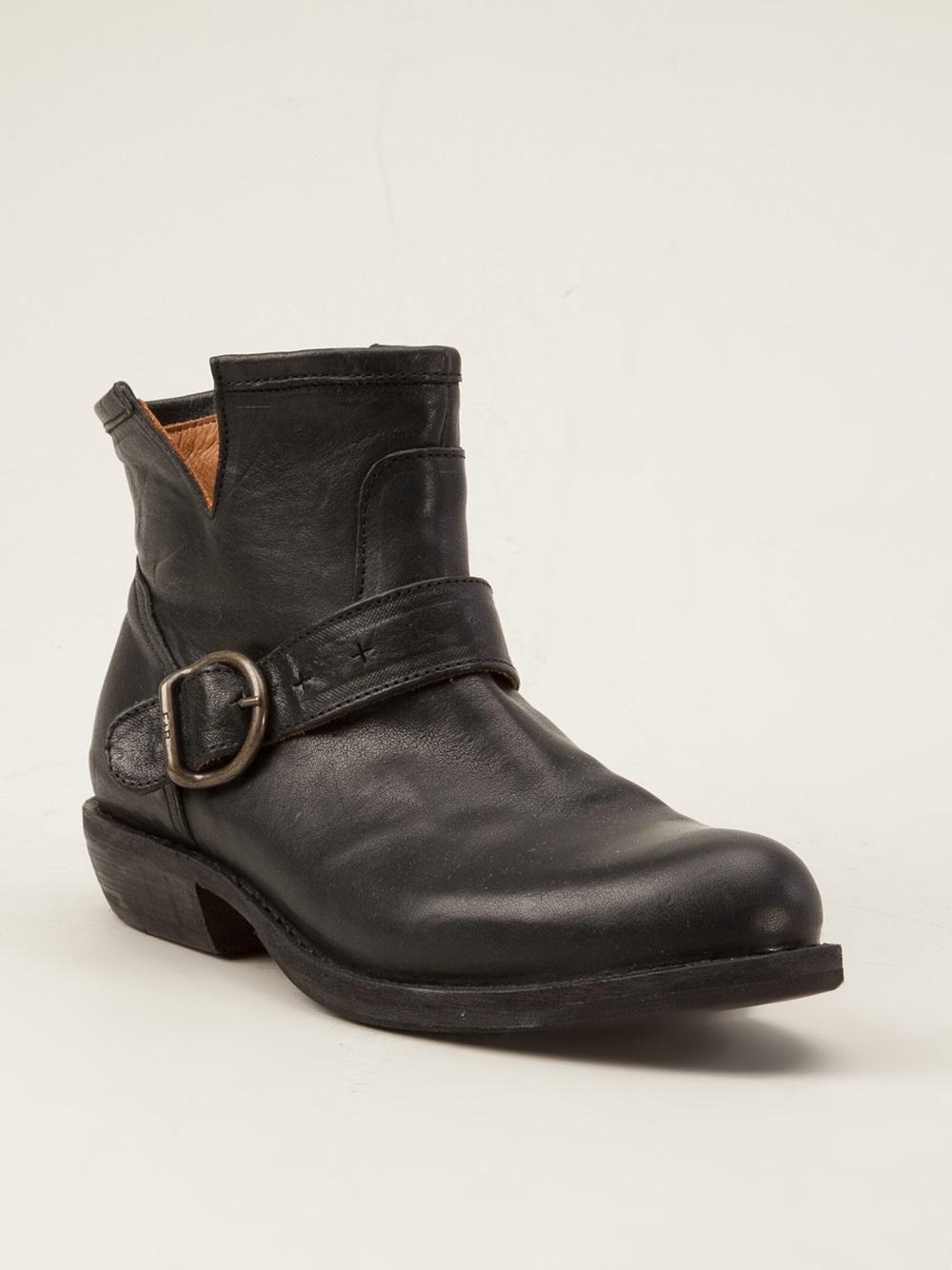 fiorentini baker black 39 chad 39 boots lyst. Black Bedroom Furniture Sets. Home Design Ideas