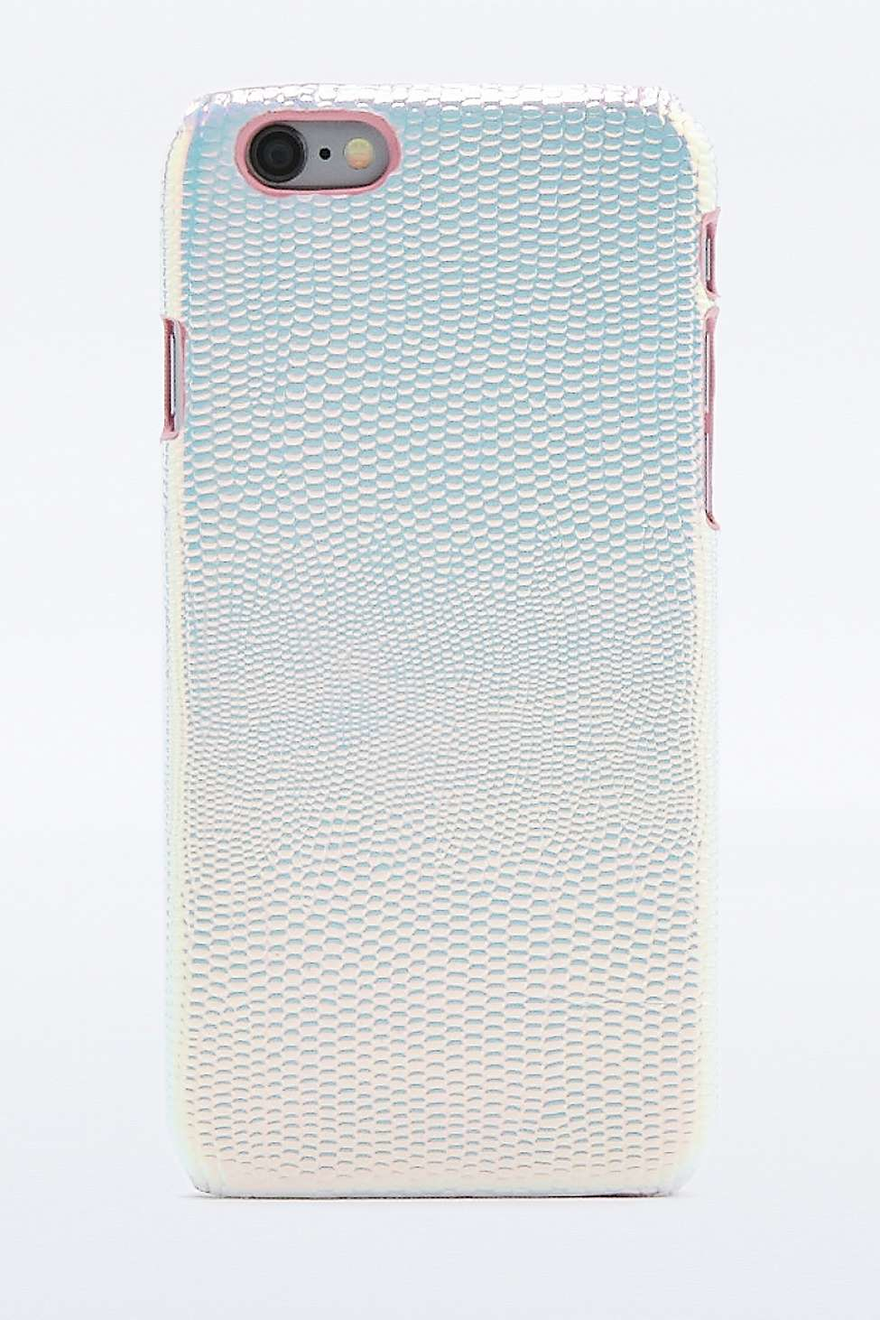 Urban Outfitters Holographic Iphone 6 Case In Metallic Lyst