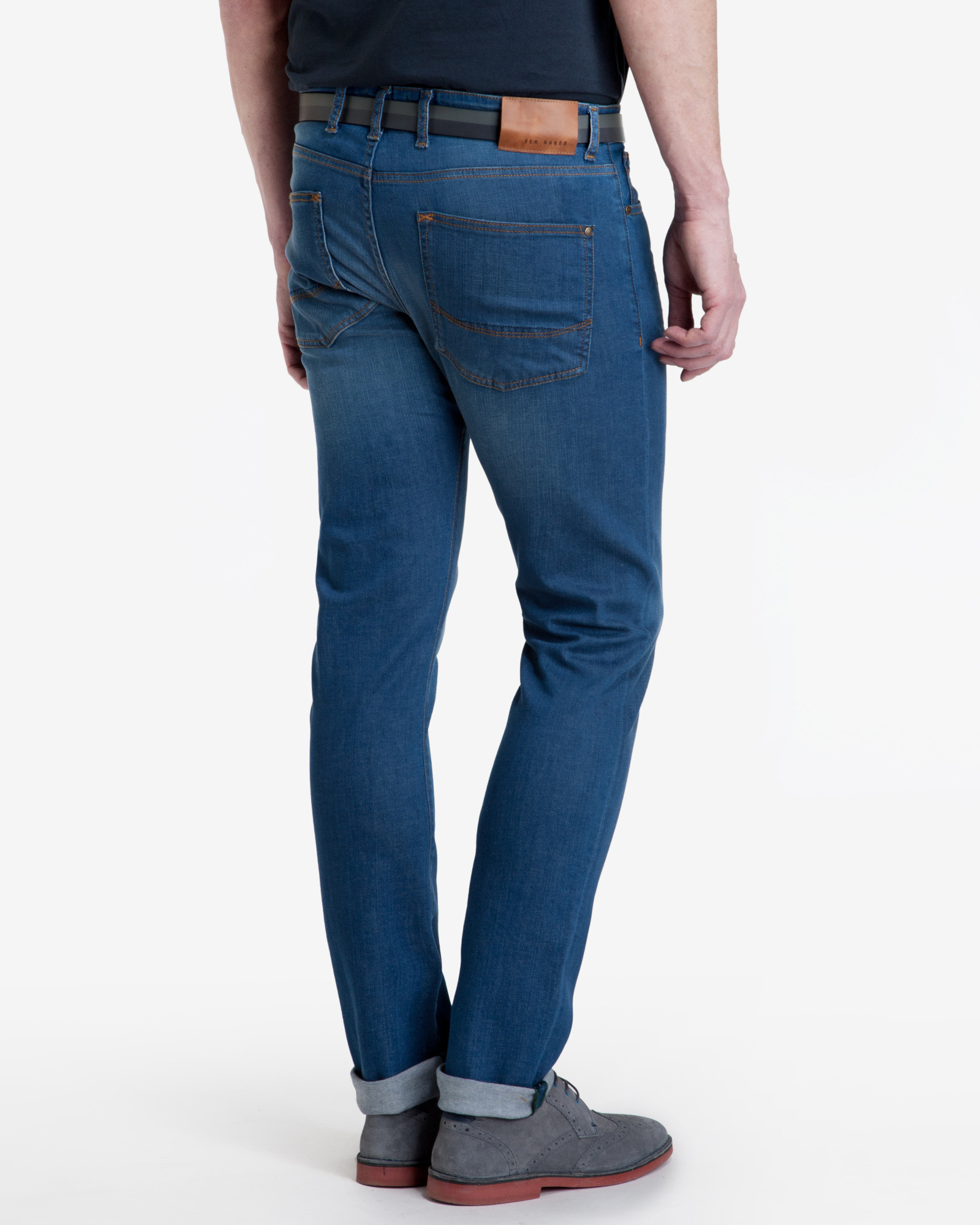 Tapered Jeans Ted Baker Affordable Sale Online Enjoy For Sale Sale Recommend For Sale Buy Authentic Online Cheap Sale Clearance Store l8idijbZ