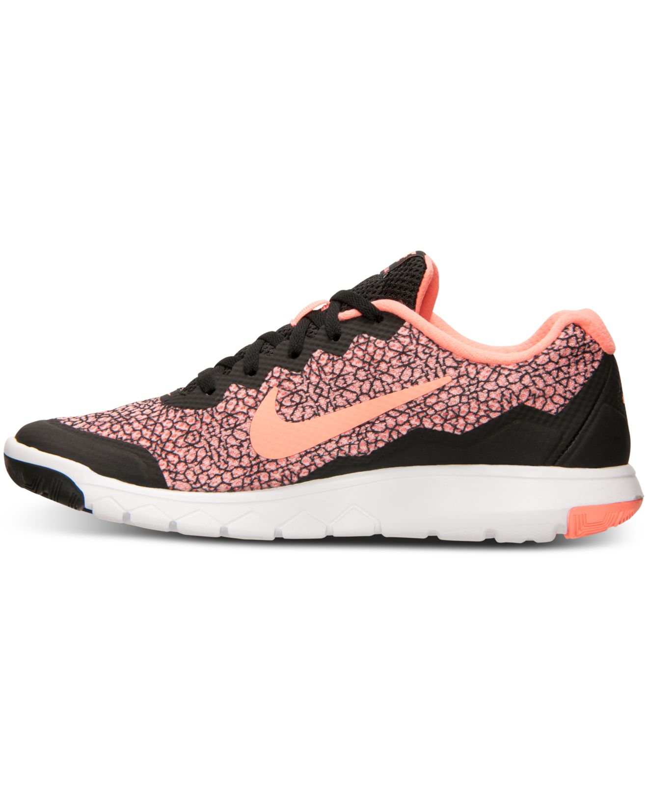 Lyst - Nike Women's Flex Experience Run 4 Premium Running Sneakers From  Finish Line in Pink