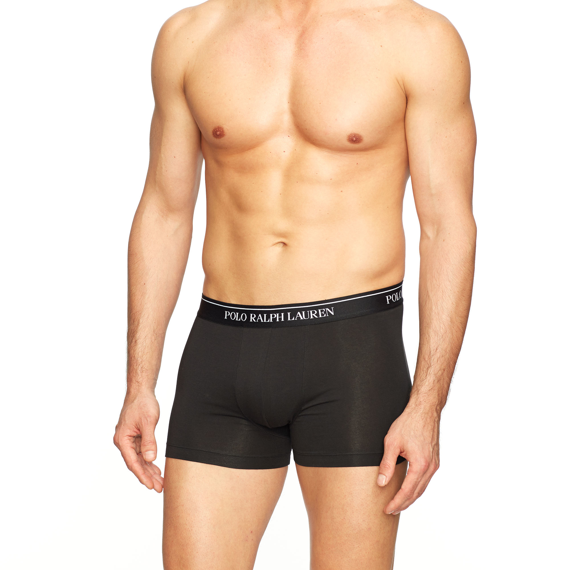 Polo ralph lauren Stretch-cotton-trunk 3-pack in Black for ...