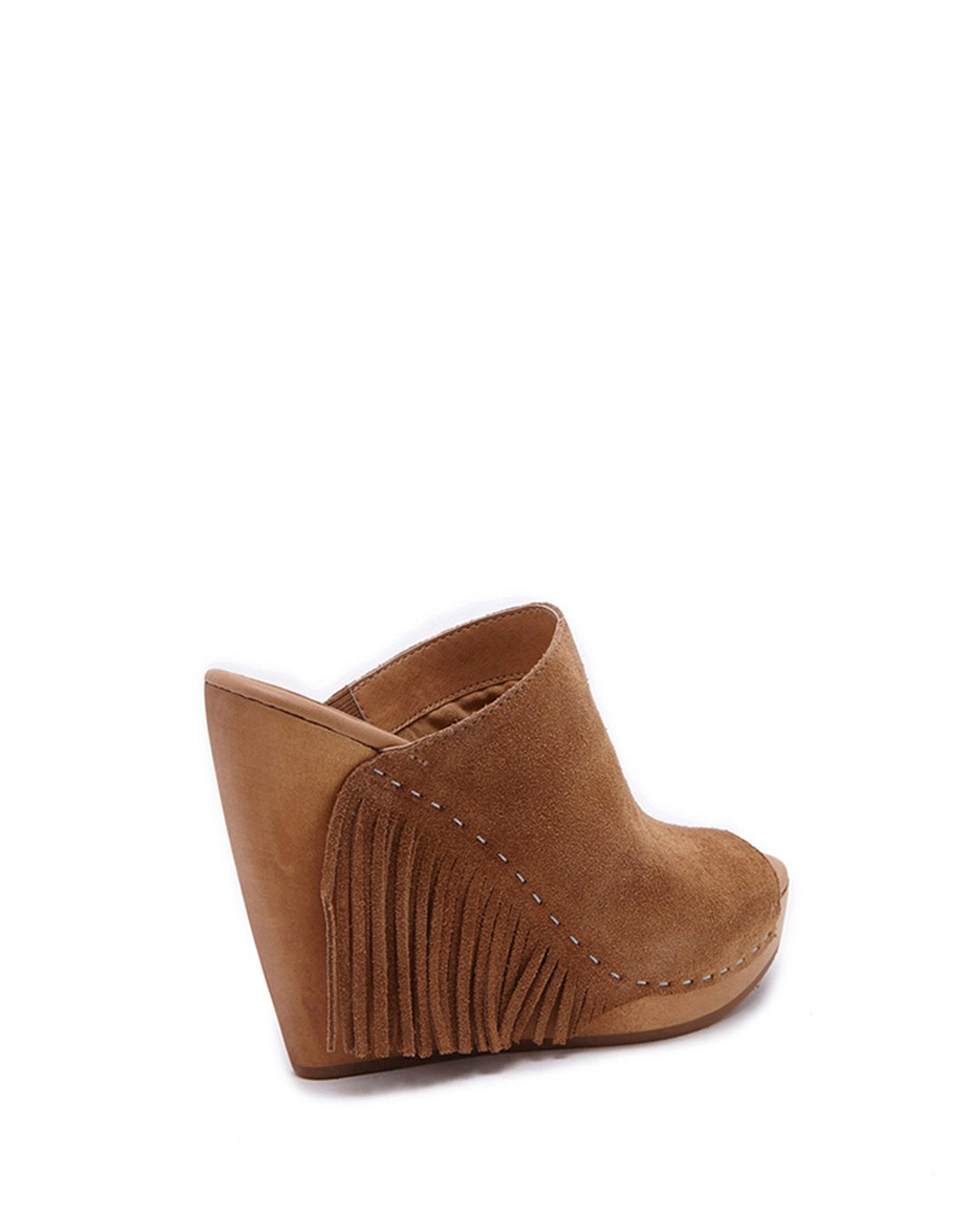 dolce vita cai wedges in brown camel lyst