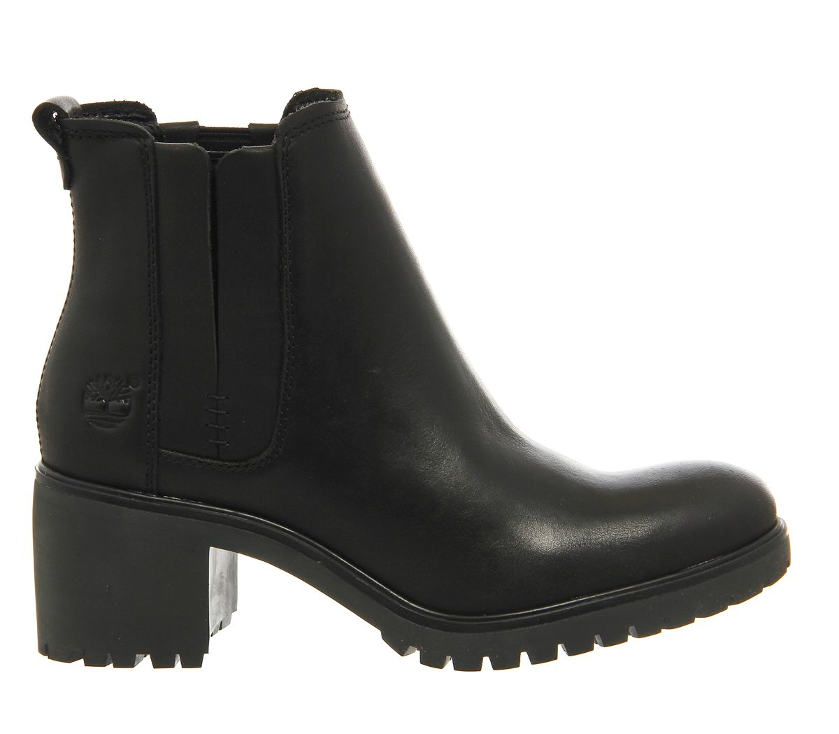 Timberland Averly Chunky Chelsea Ankle Boots In Black Lyst