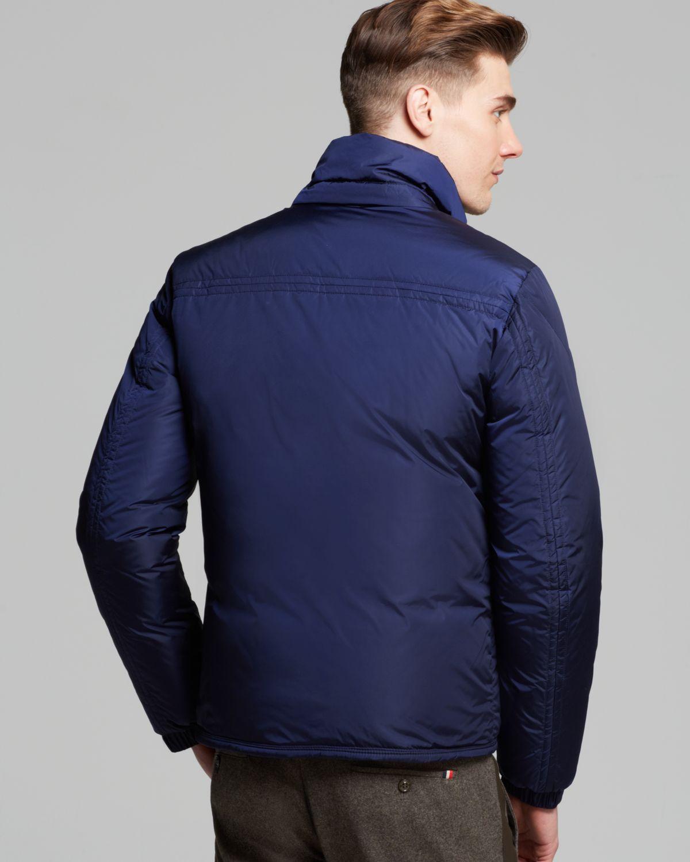 Moncler Brad Men Outerwear Blue