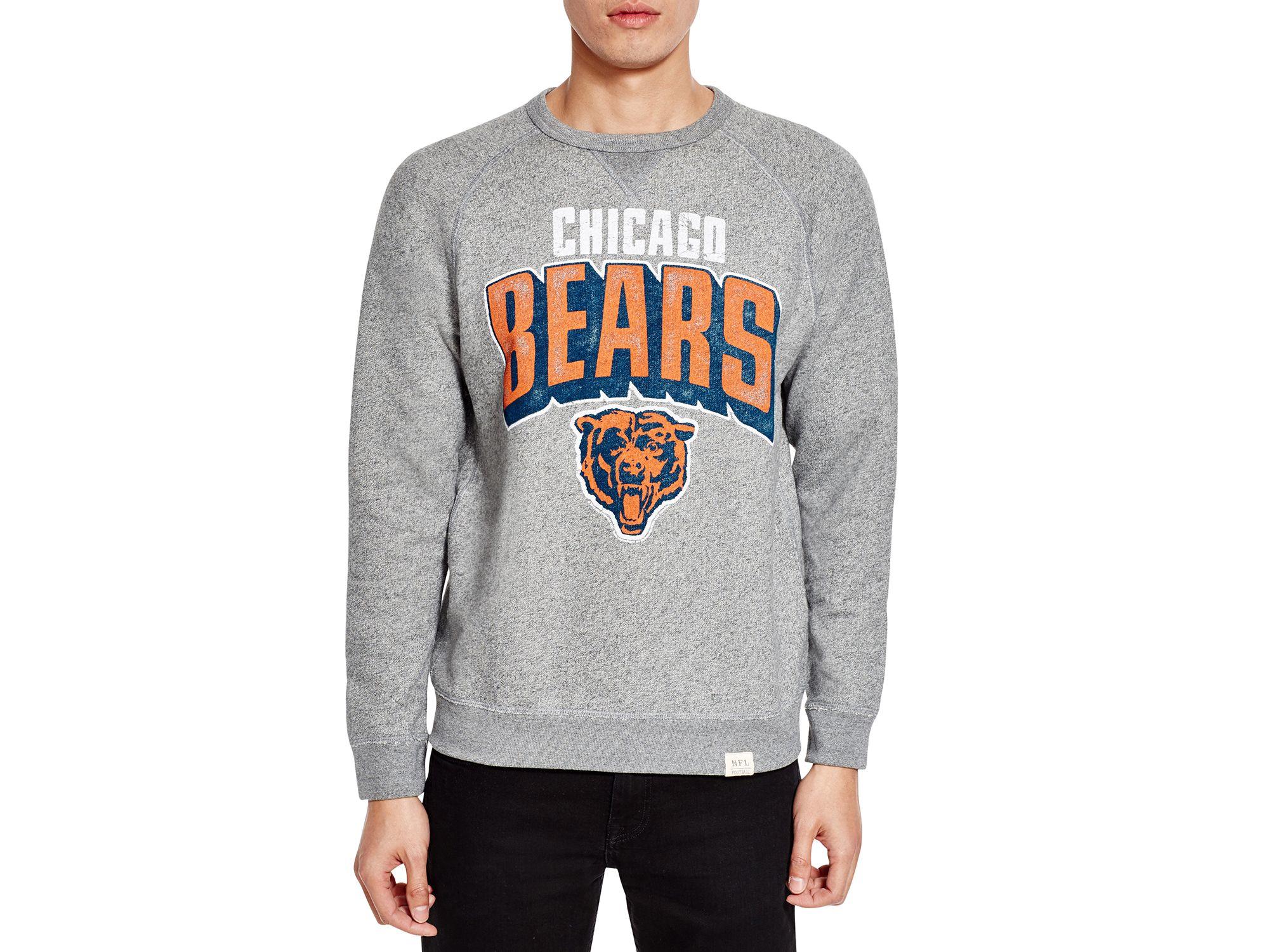 chicago bears grey sweatshirt