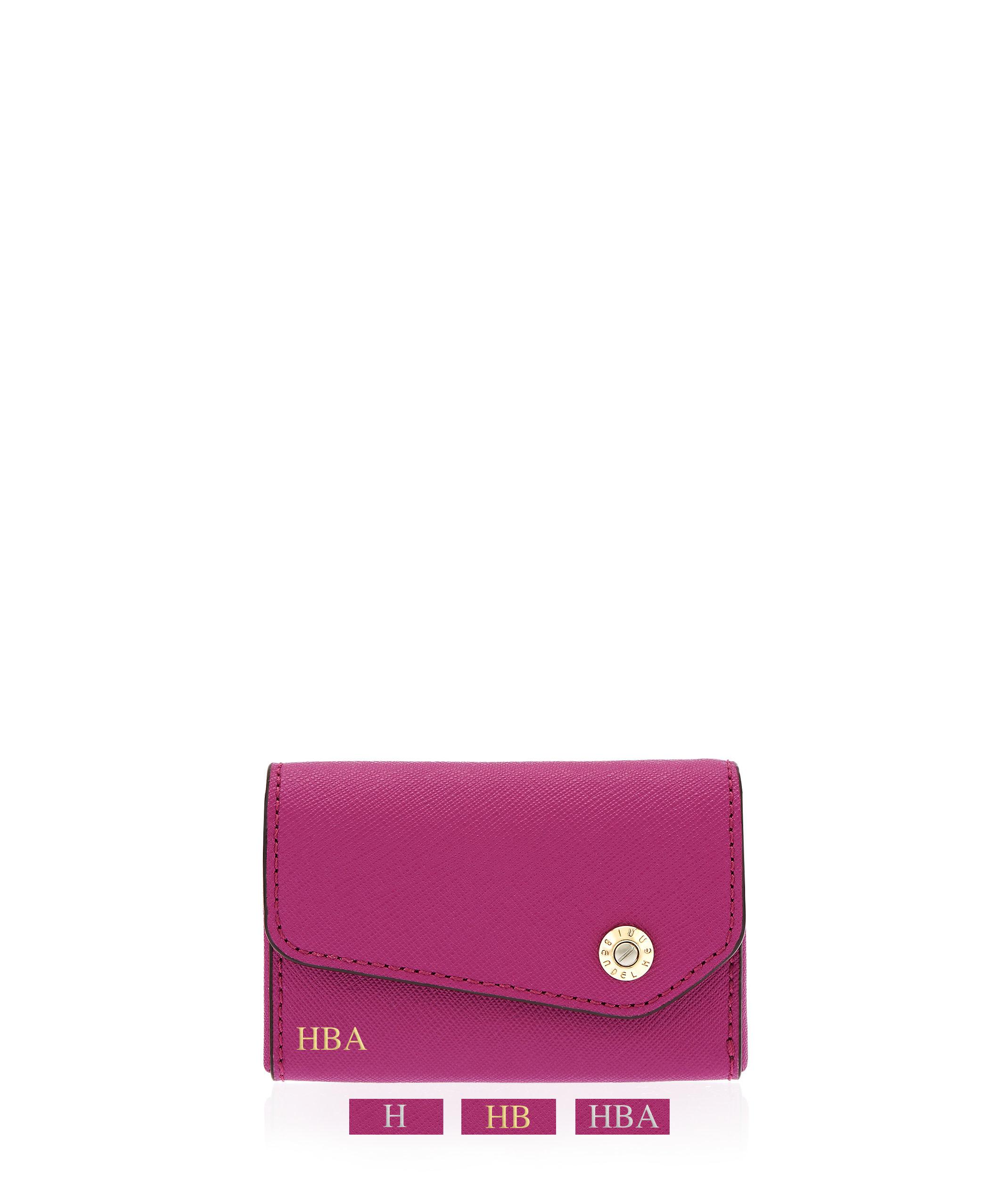 henri bendel west 57th business card case in pink