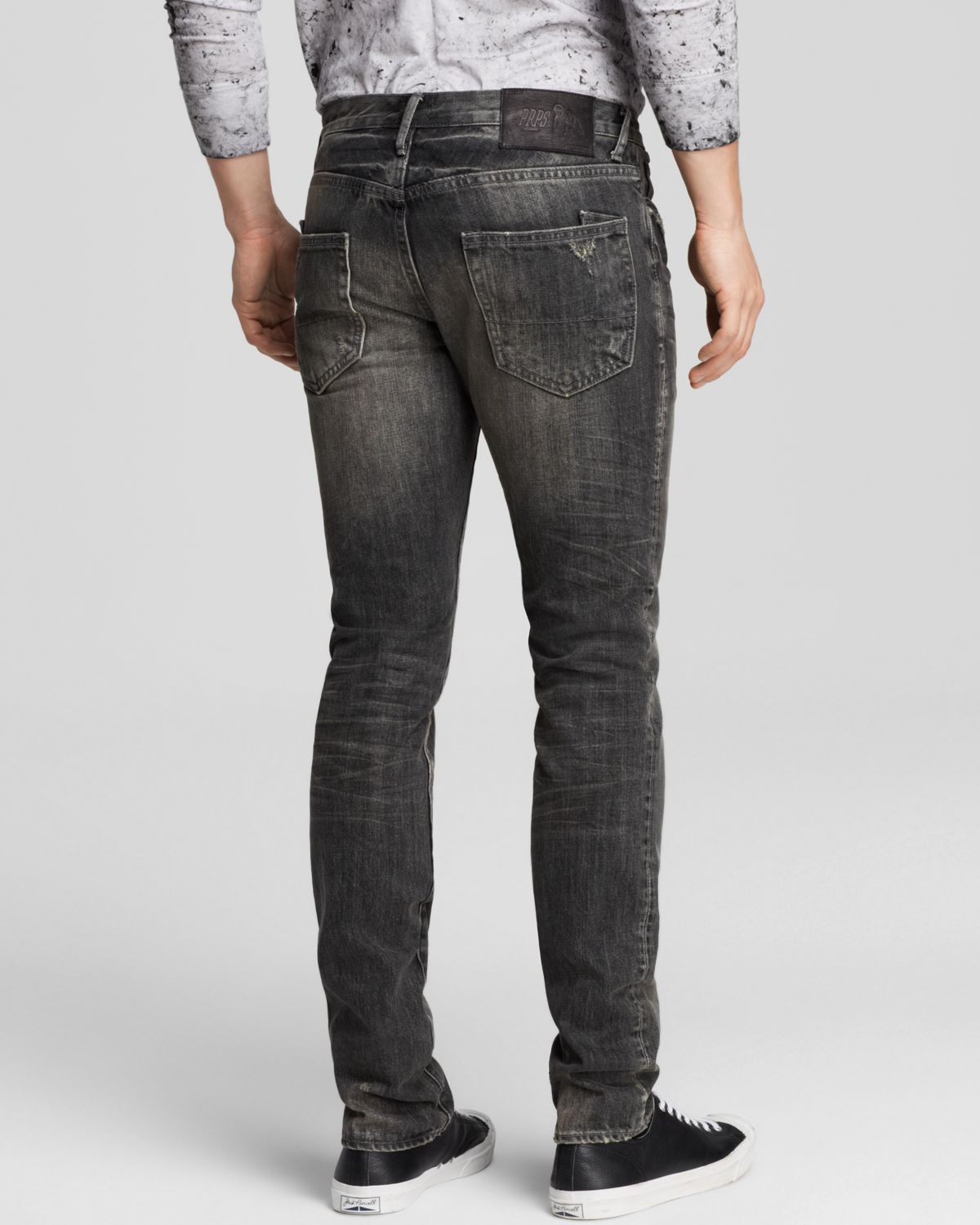 PRPS Jeans - Gremlin Fury New Tapered Fit In Black for Men