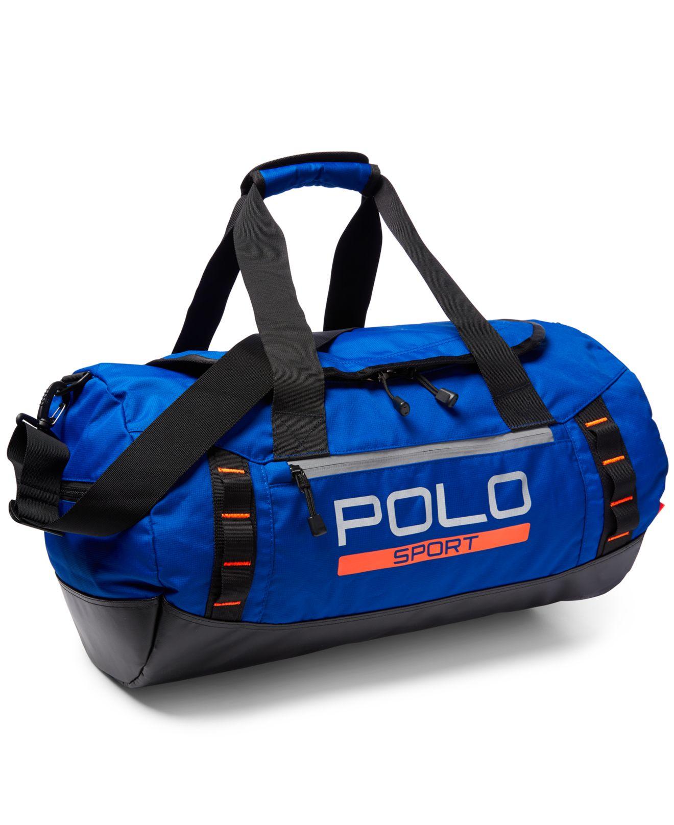 Lyst Polo Ralph Lauren Polo Sport Duffel Bag In Blue For Men