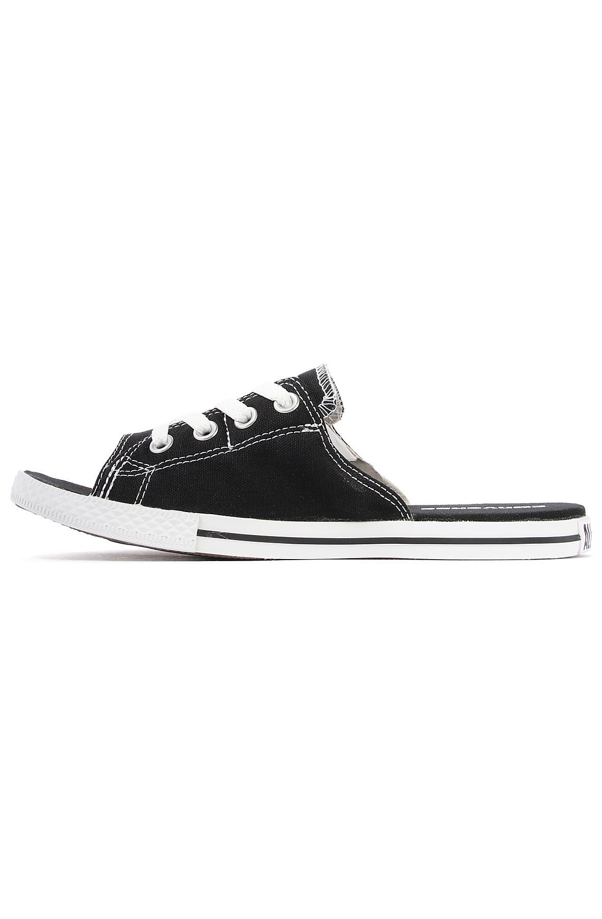 Lyst - Converse The Chuck Taylor All Star Cutaway Evo Canvas Sandal ... f62aeb44b