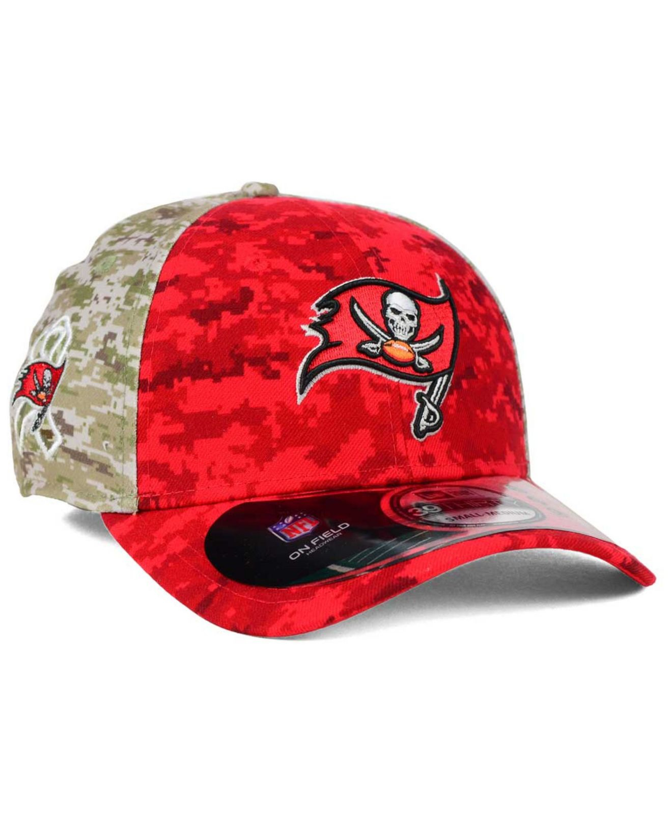 Lyst - KTZ Tampa Bay Buccaneers Salute To Service 39thirty Cap in ... c1856982a0e
