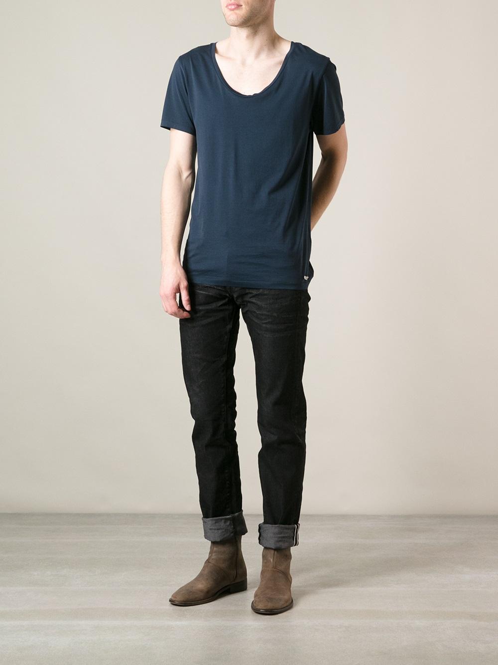 Prps noir Straight Leg Jeans in Black for Men   Lyst