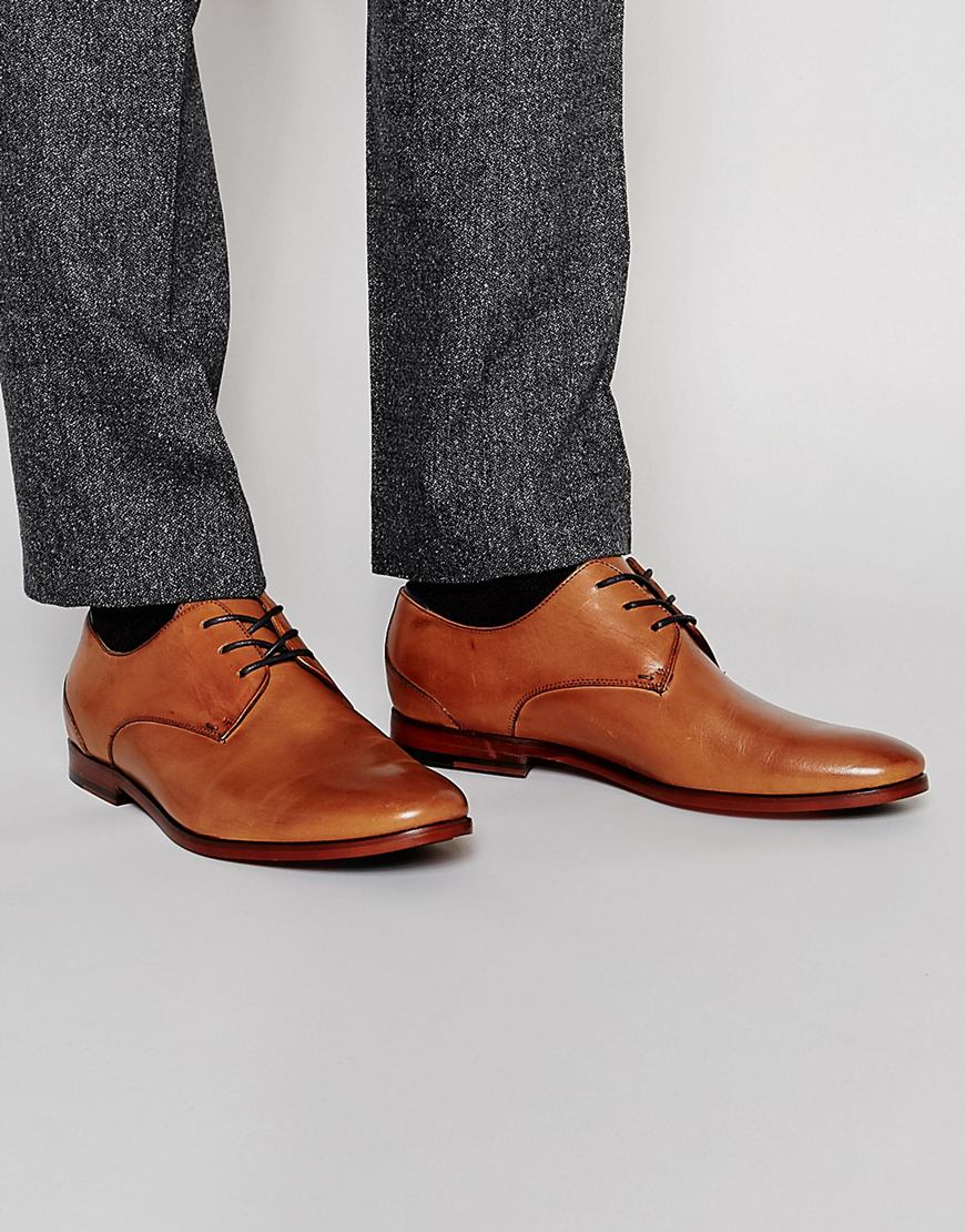 e0c31f9fc513 ALDO Hermosthere Leather Derby Shoes in Brown for Men - Lyst