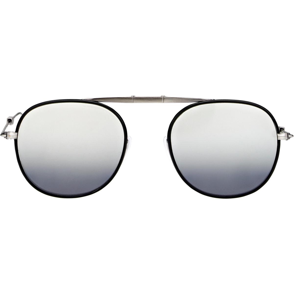 Van Sunglasses  garrett leight van buren folding sunglasses in black for men lyst