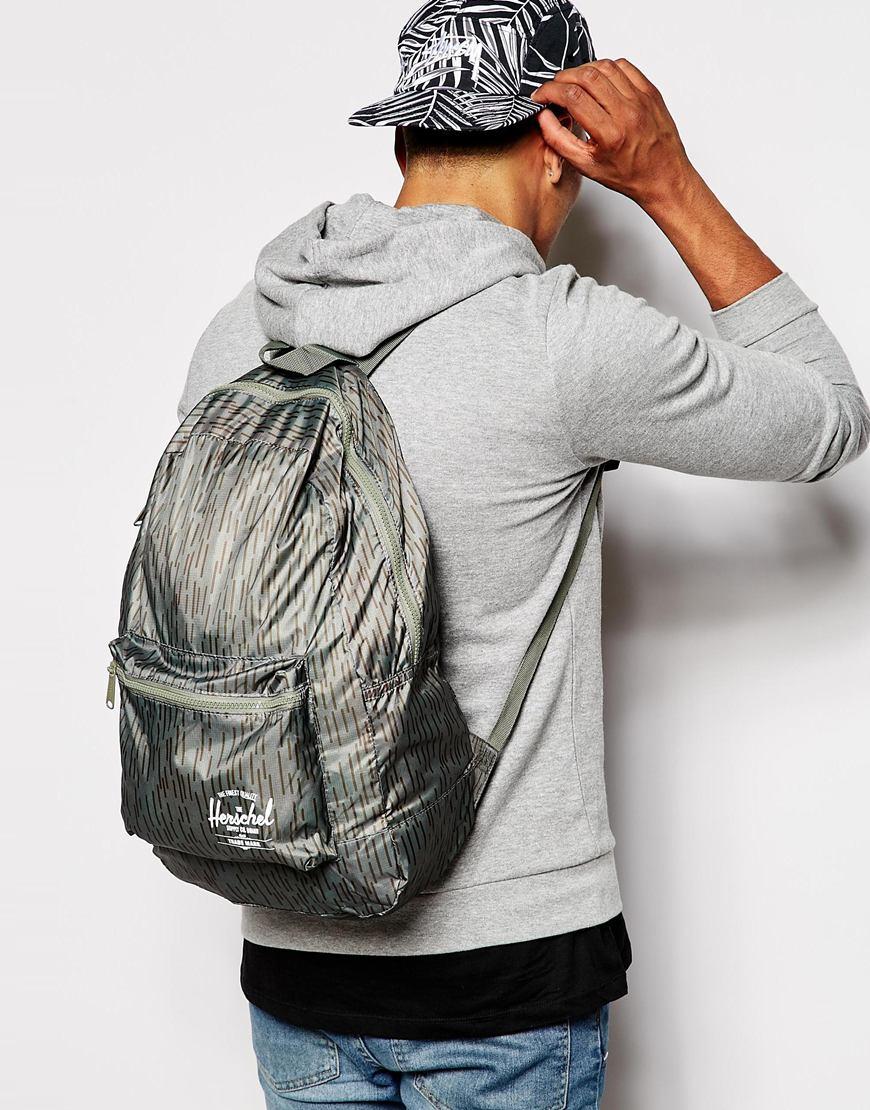 8b62672acb6 Lyst - Herschel Supply Co. Herschel Packable Backpack in Green for Men