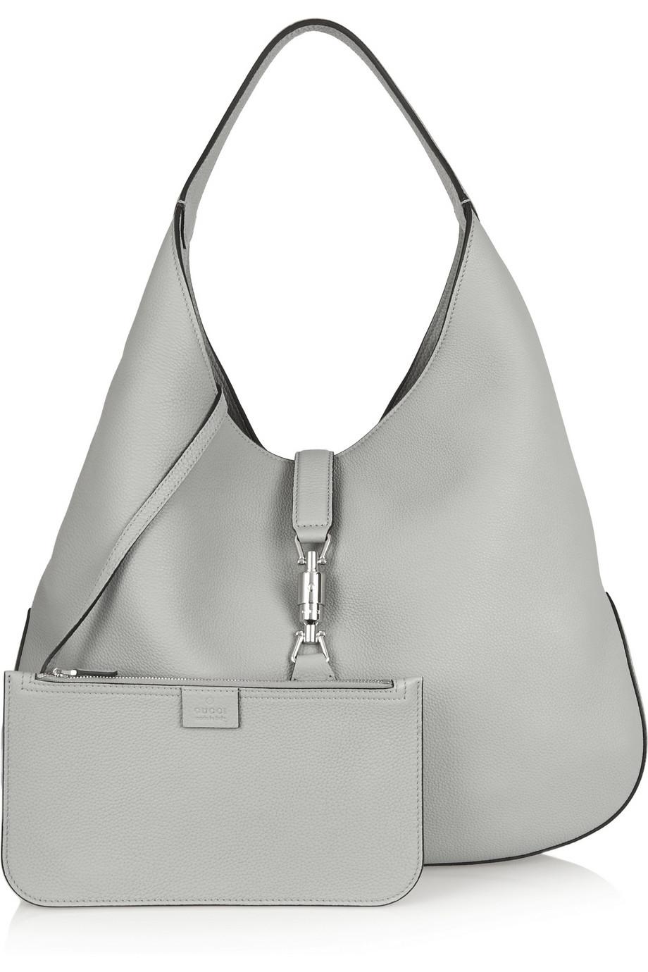 c36c2674b Gucci Leather Jackie Hobo Bag