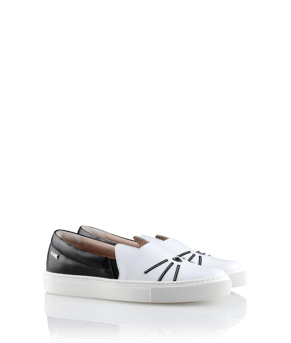 Karl Lagerfeld K/sneaker Slip On in White