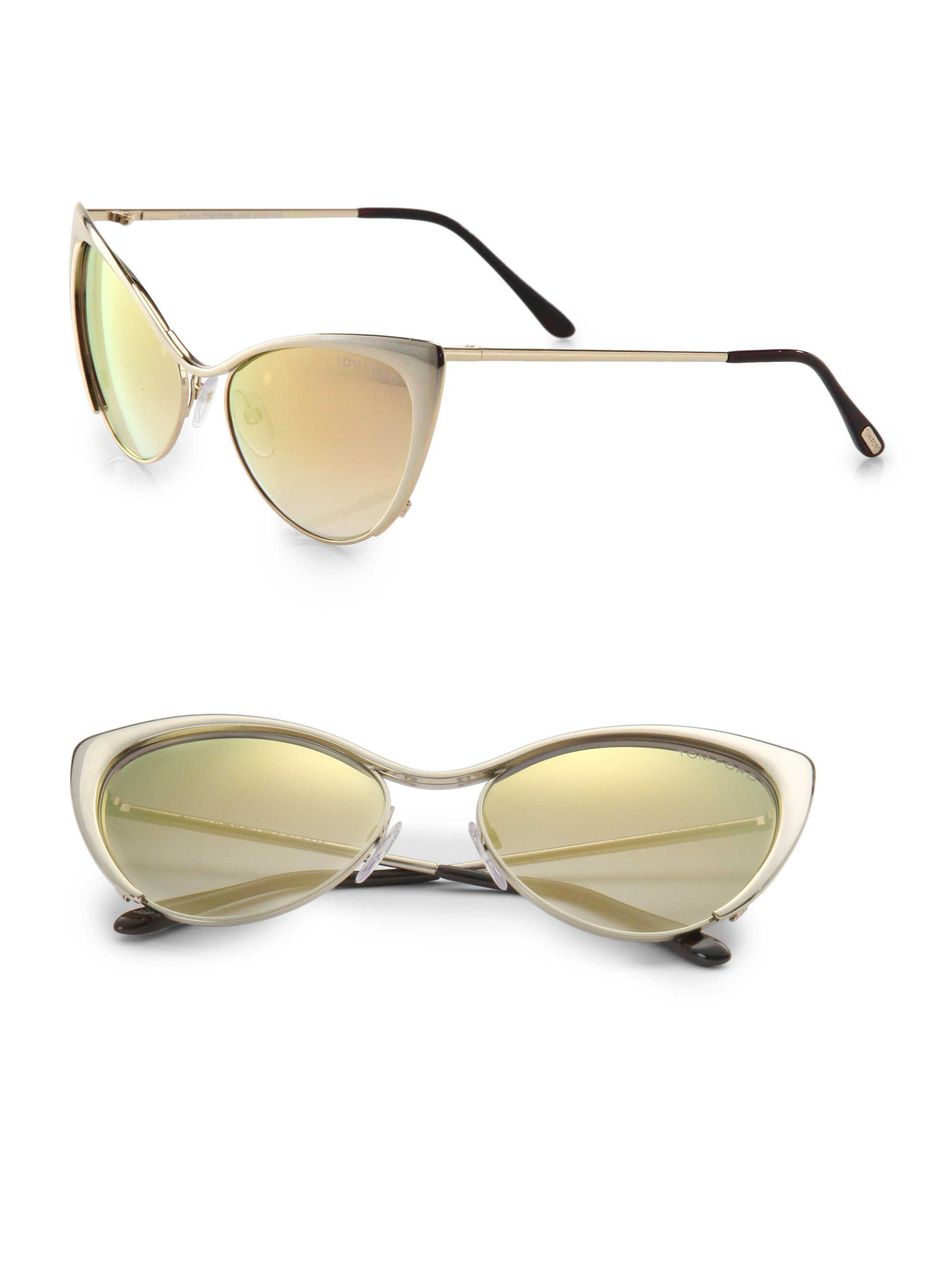 d714d071e731 Gallery. Previously sold at: Saks Fifth Avenue · Women's Tom Ford Cat Eye