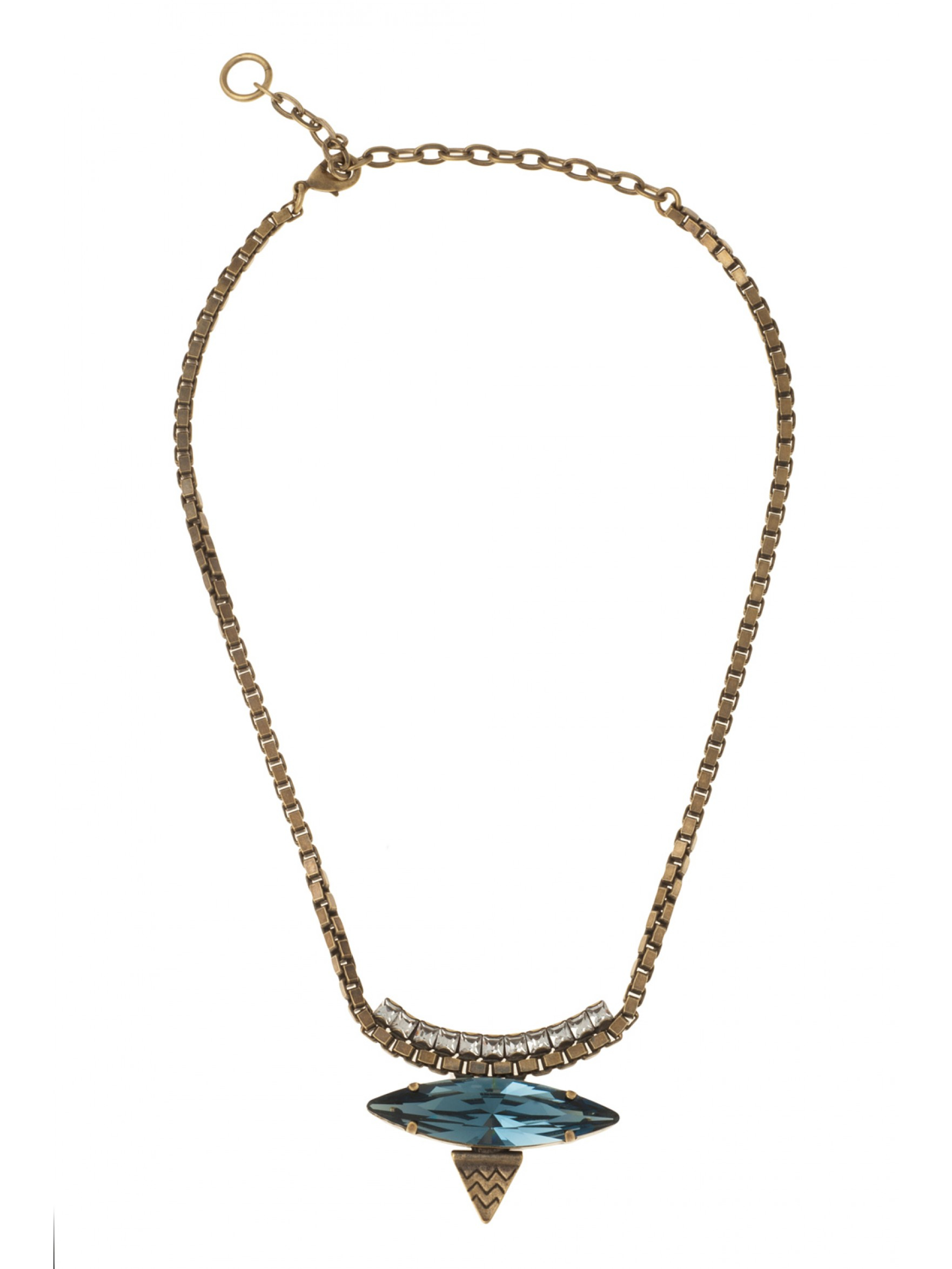Lionette Harlem Necklace in Gold (midnight) | Lyst