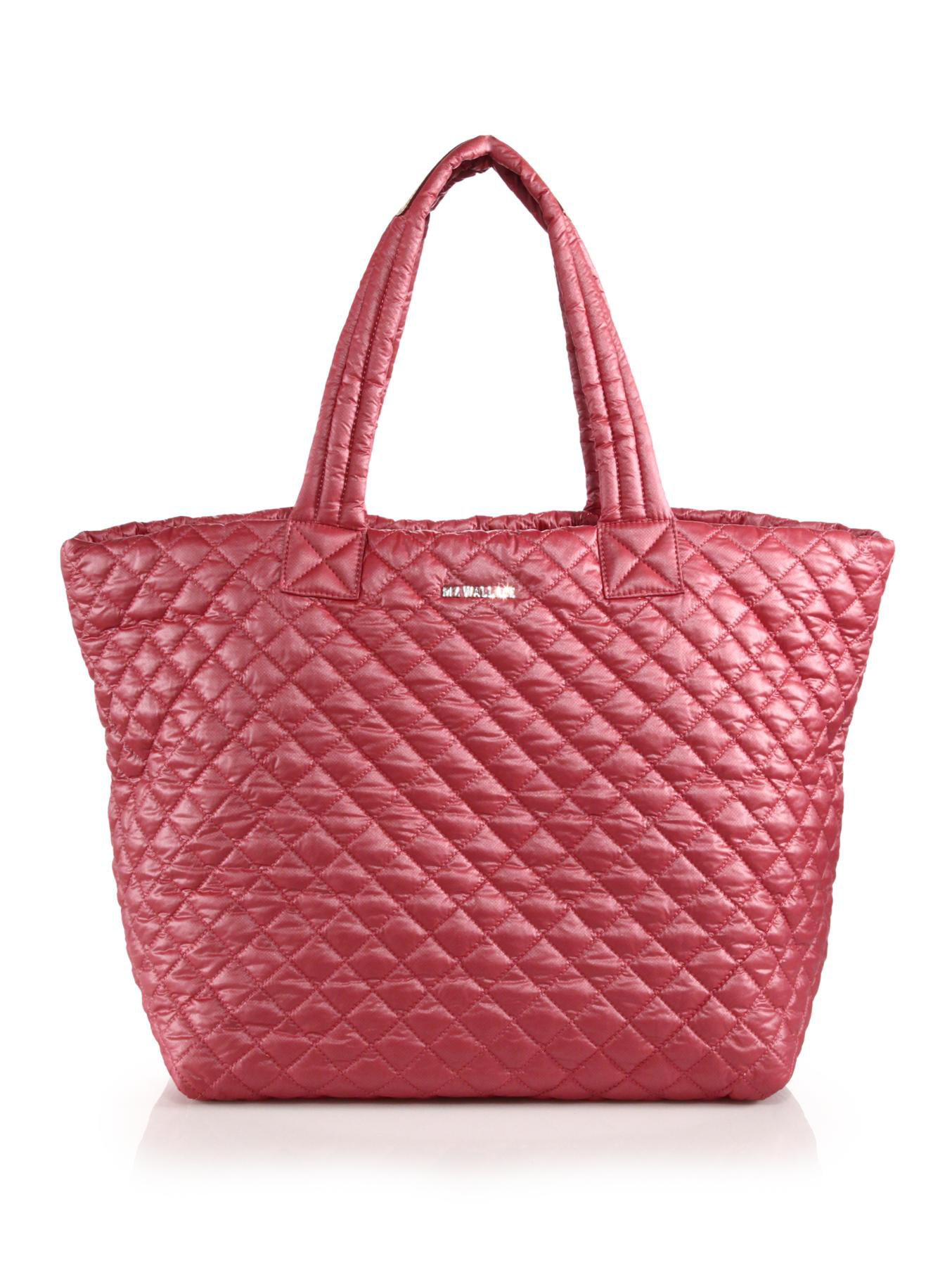 Quilted Nylon Tote 121