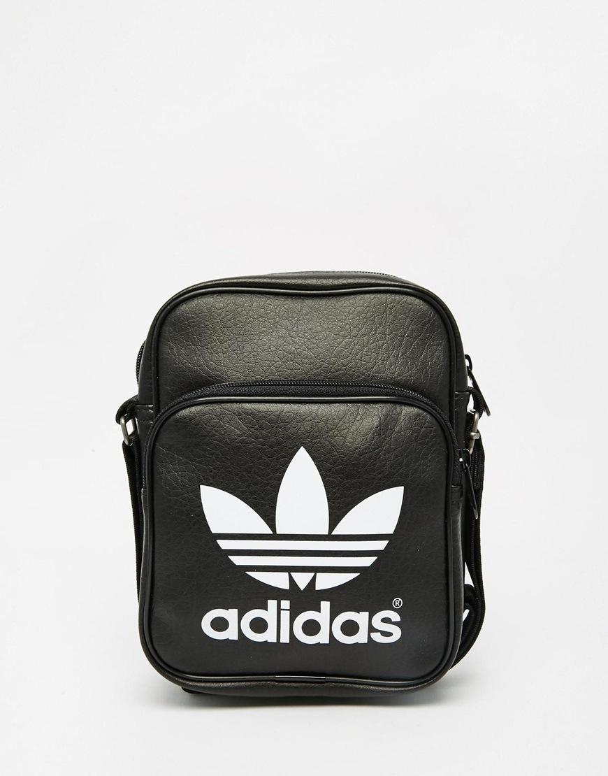 adidas Originals Classic Flight Bag Ab2734 in Black for Men - Lyst 02c701be4378d