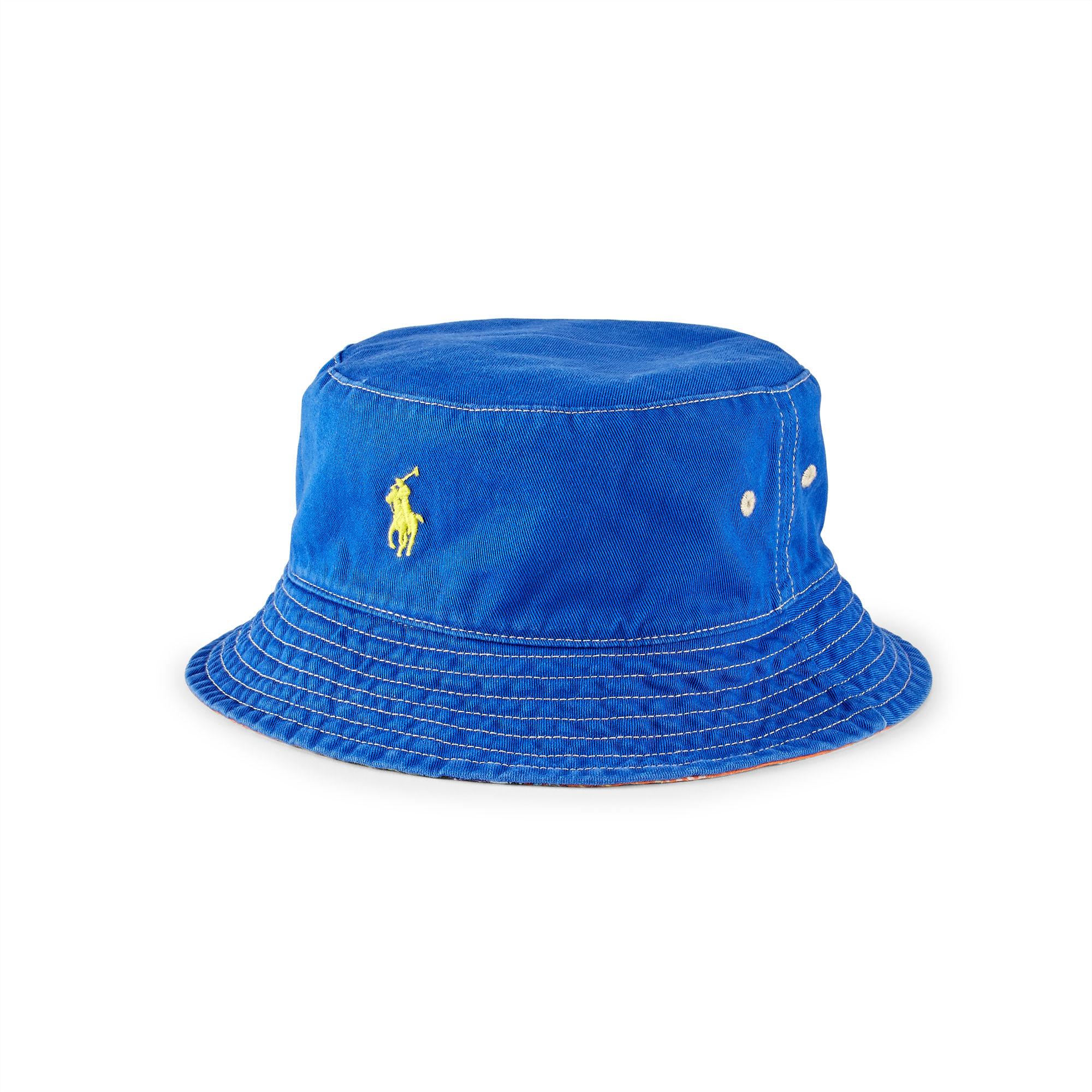Polo Ralph Lauren Cotton Reversible Twill Bucket Hat For