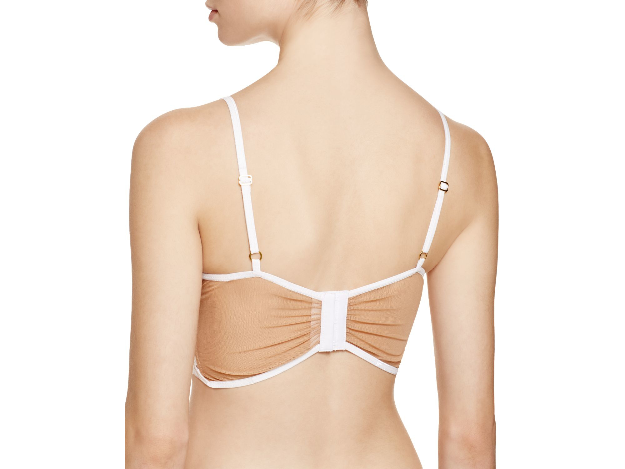 5749054b36686 Lyst - For Love   Lemons Ruby Underwire Bralette  br1118l in White